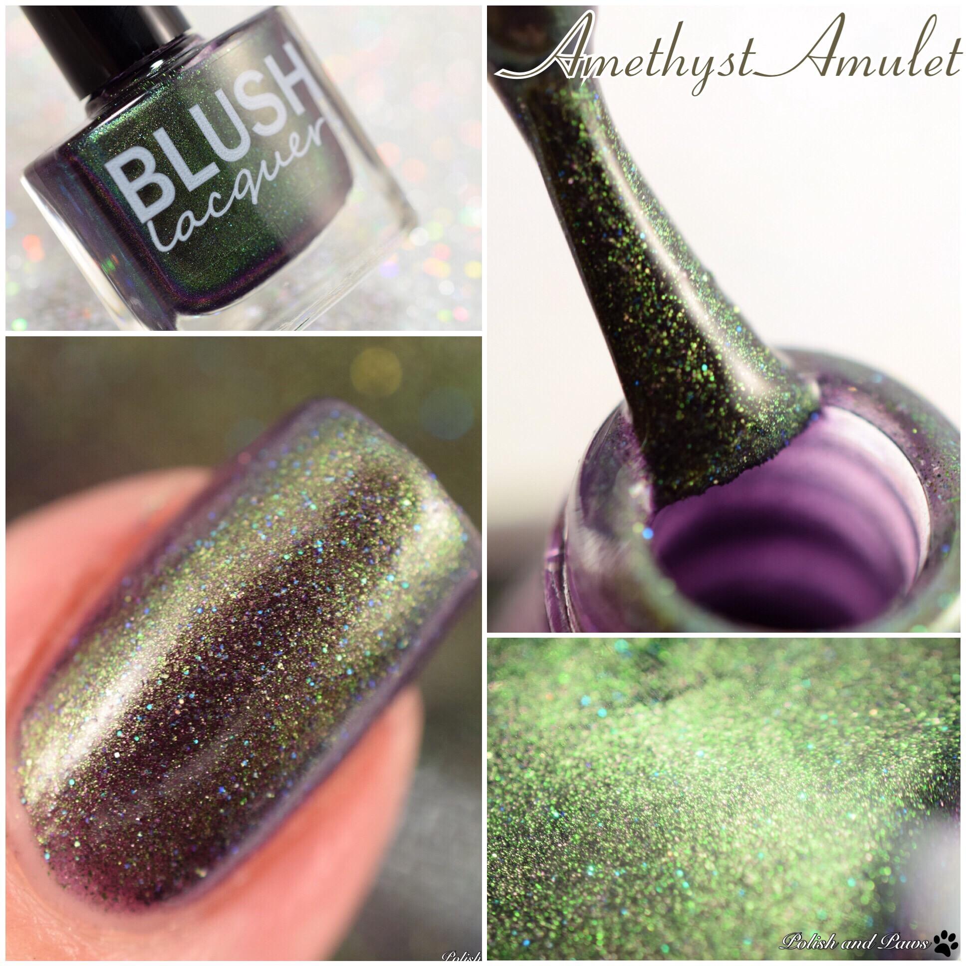 Blush Lacquers Amethyst Amulet