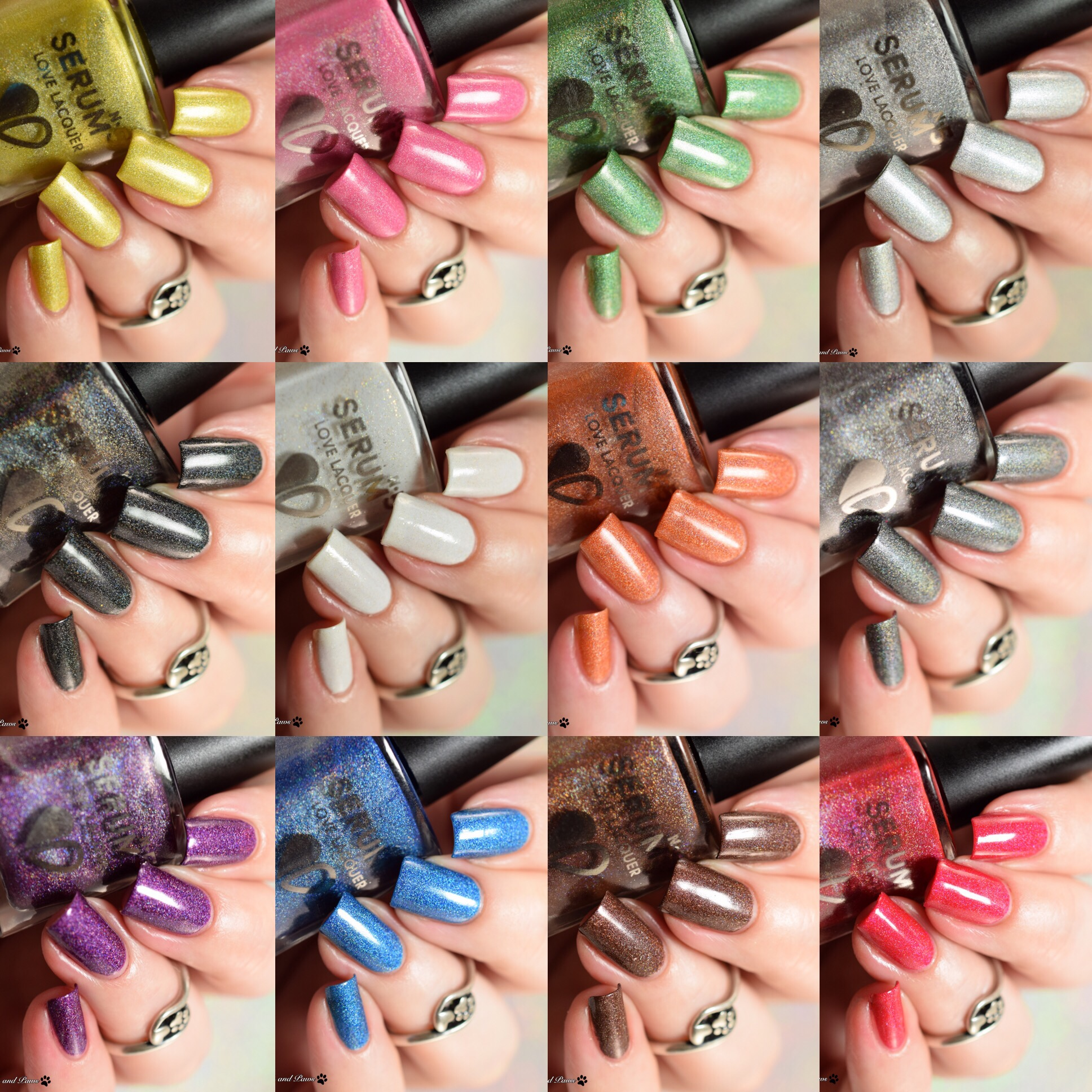 Serum No5 Lucky Colors Collection
