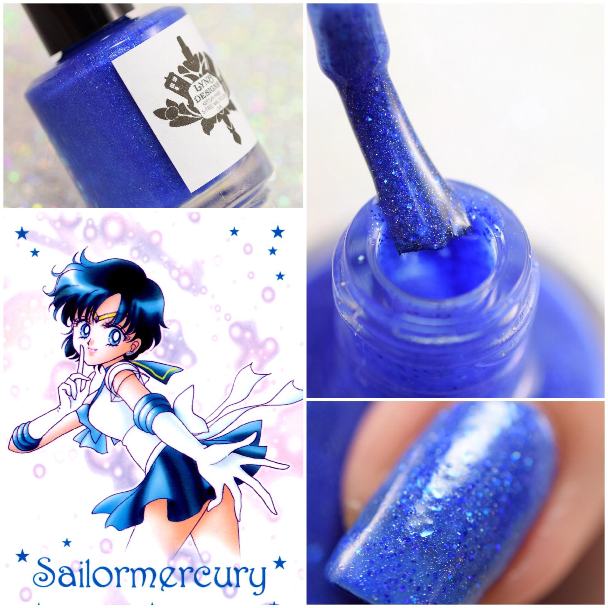 LynB Designs Sailor Mercury ~ Ami