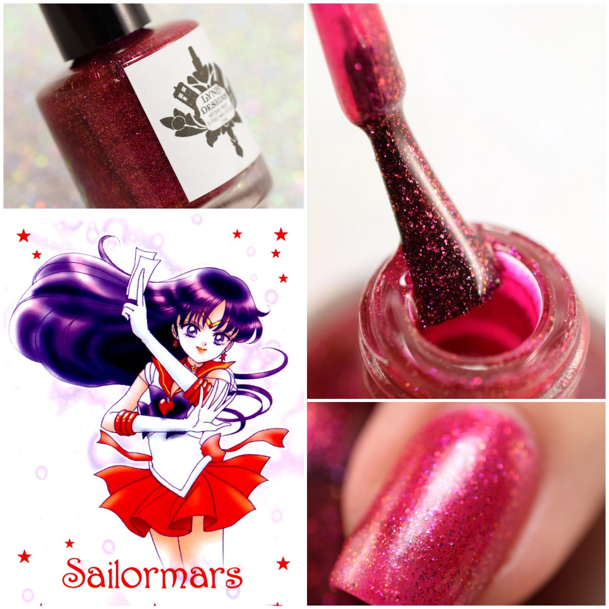 LynB Designs Sailor Mars ~ Rei