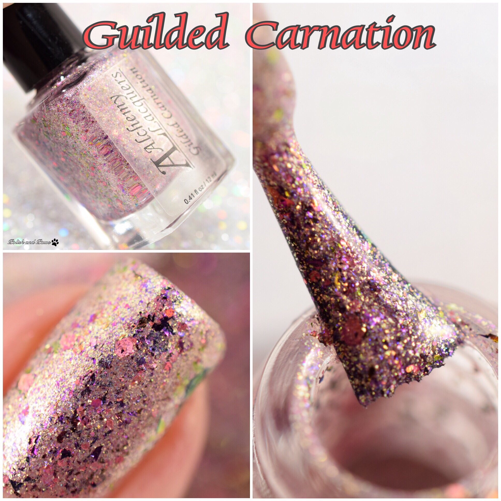 Alchemy Lacquers Guilded Carnation