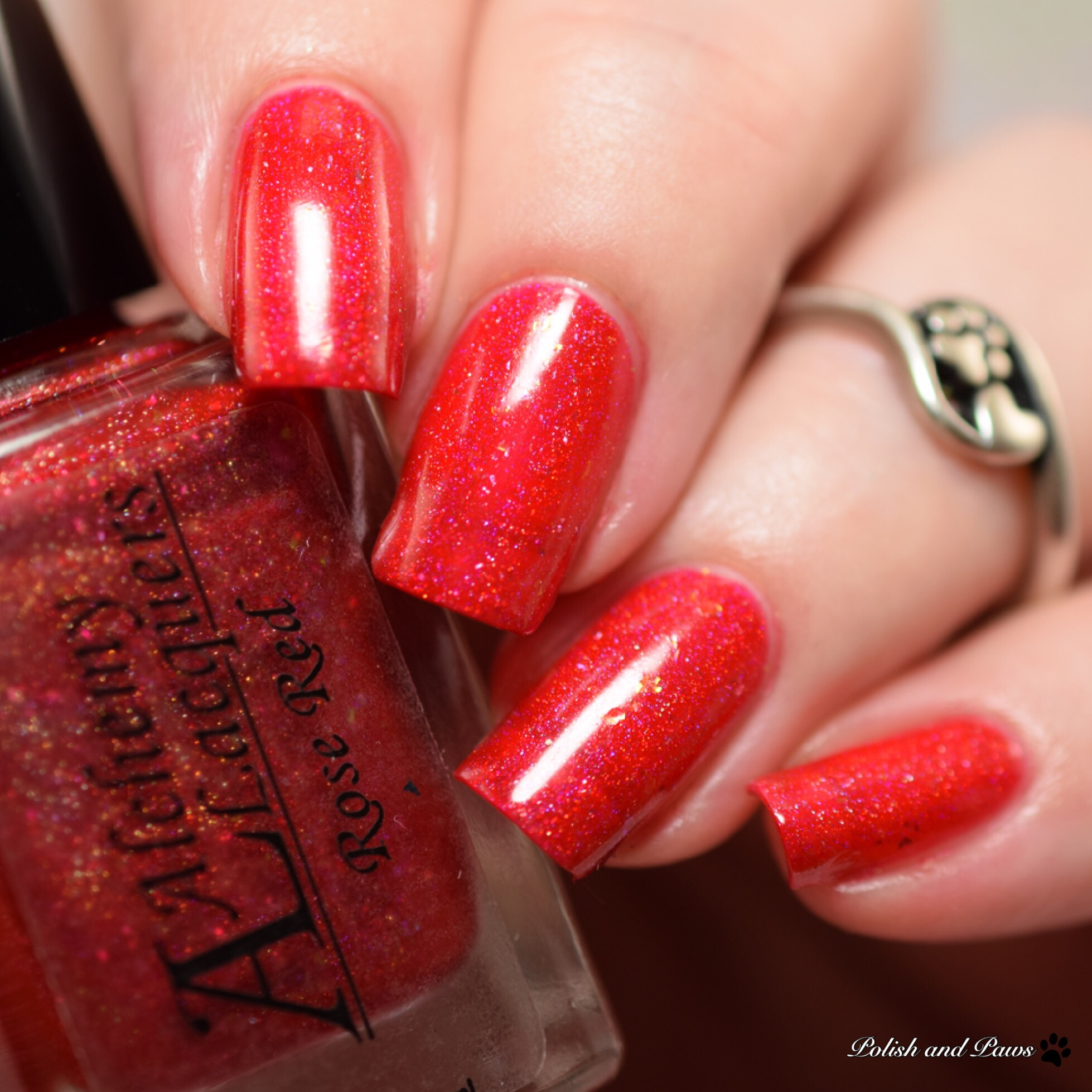 Alchemy Lacquers Rose Red
