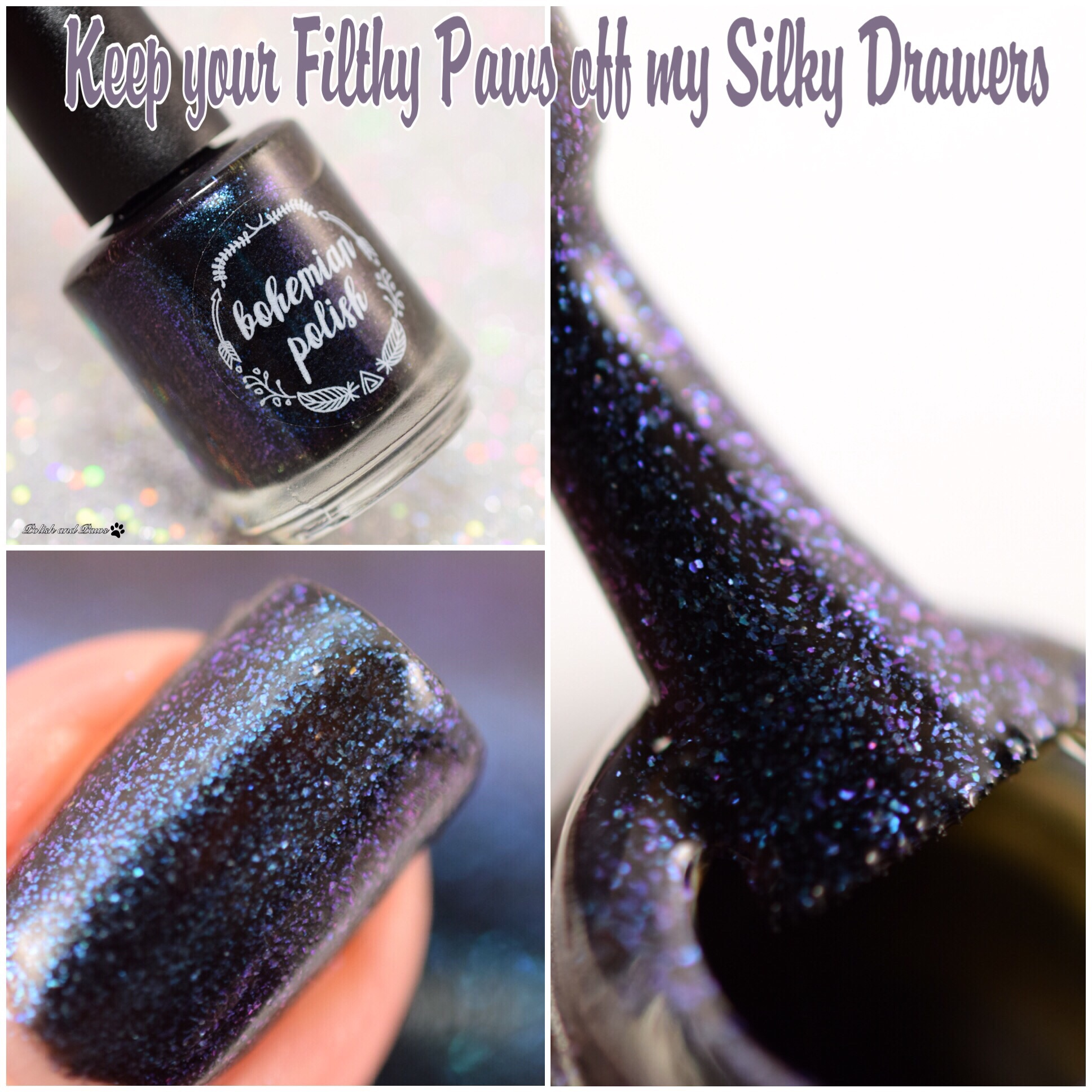 Bohemian Polish Keep your Filthy Paws off my Silky Drawers