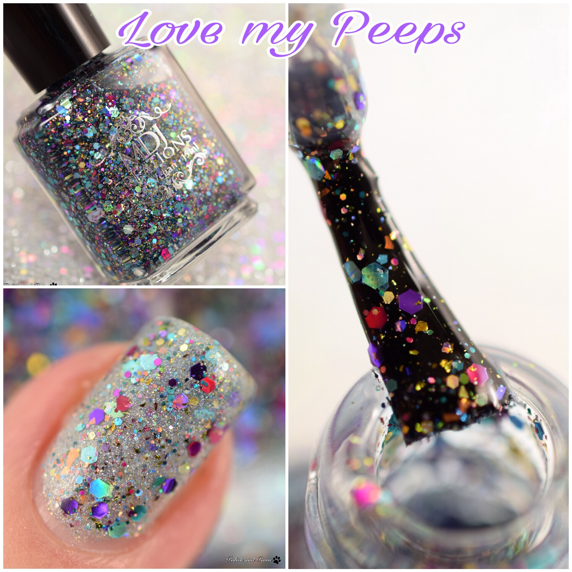 MDJ Creations Love My Peeps