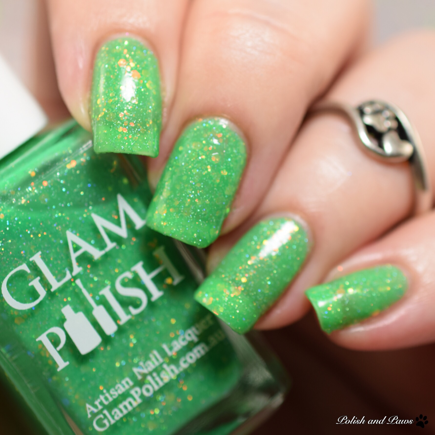 Glam Polish That's a Bowtruckle... Right!