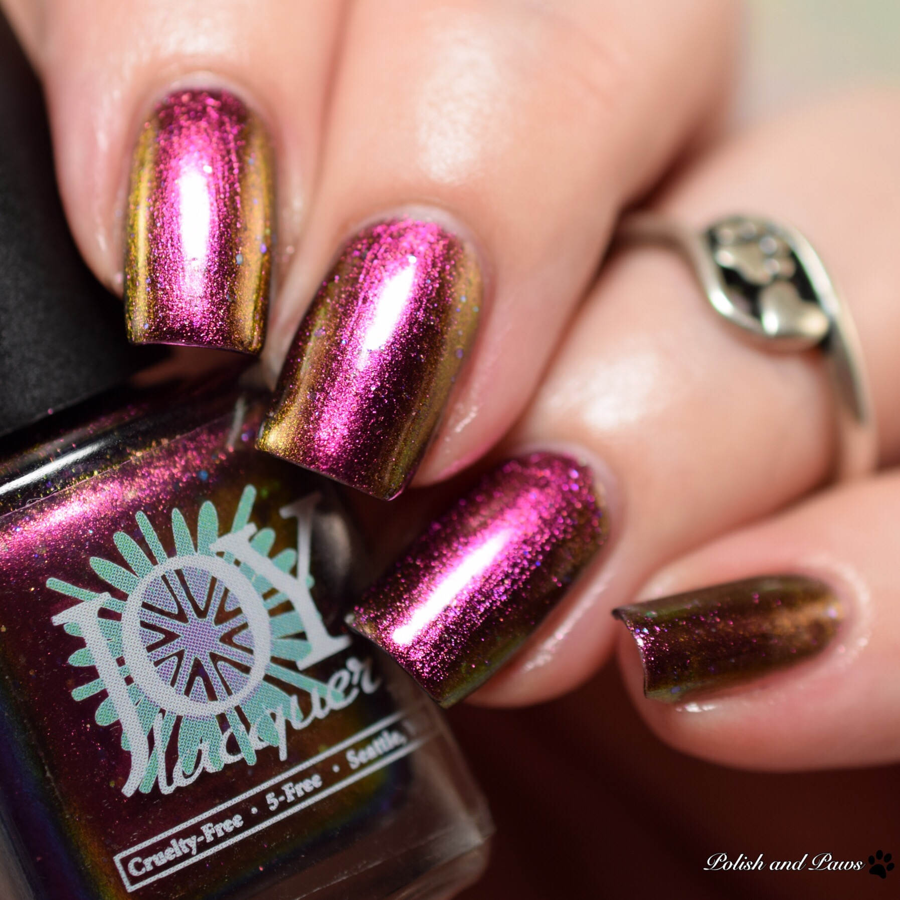 Joy Lacquer Dark Side of the Moon-icorn
