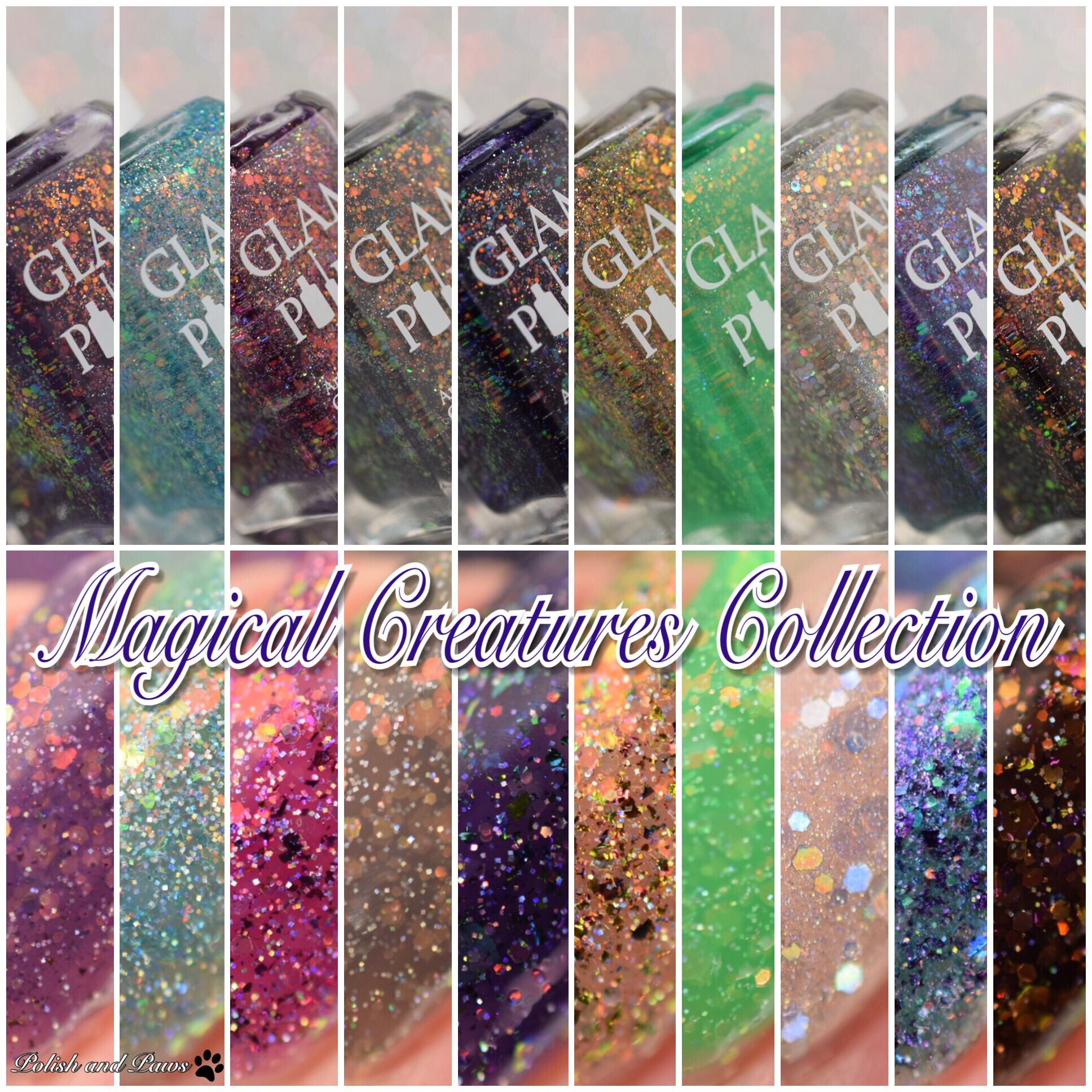 Glam Polish Magical Creatures Collection