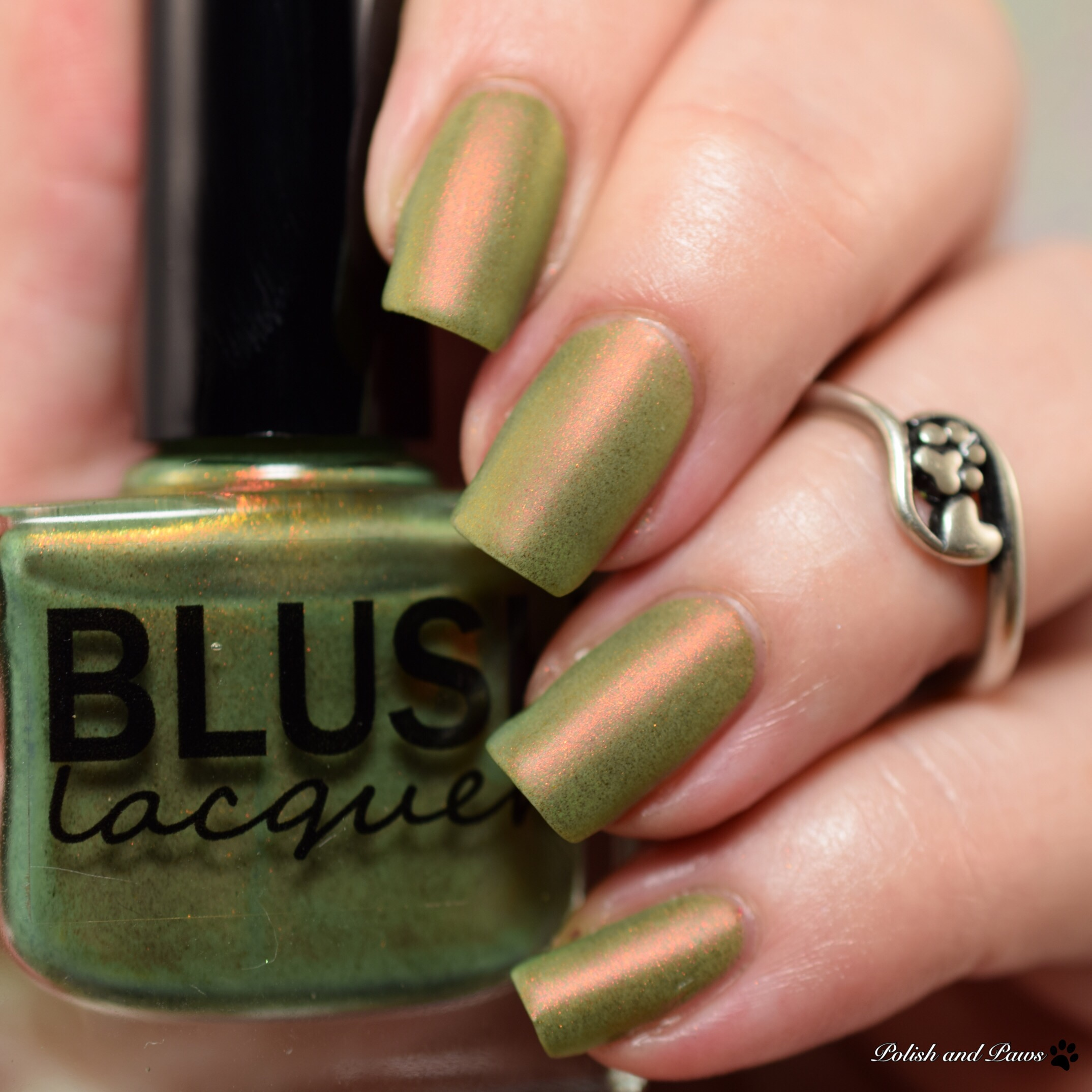 Blush Lacquers Matterial Girl Matte Top Coat | Polish and Paws