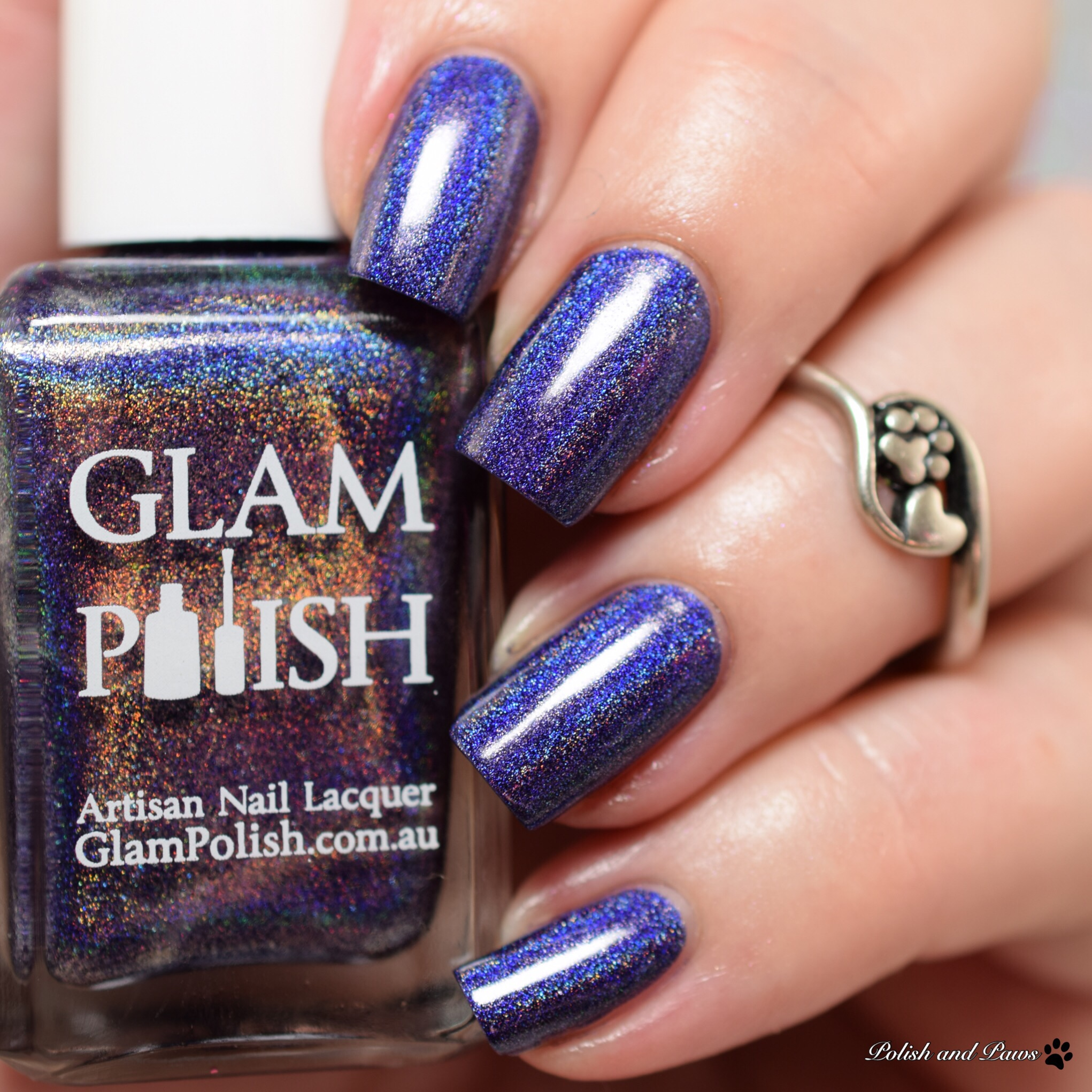 Glam Polish What a waste of a Lovely Night