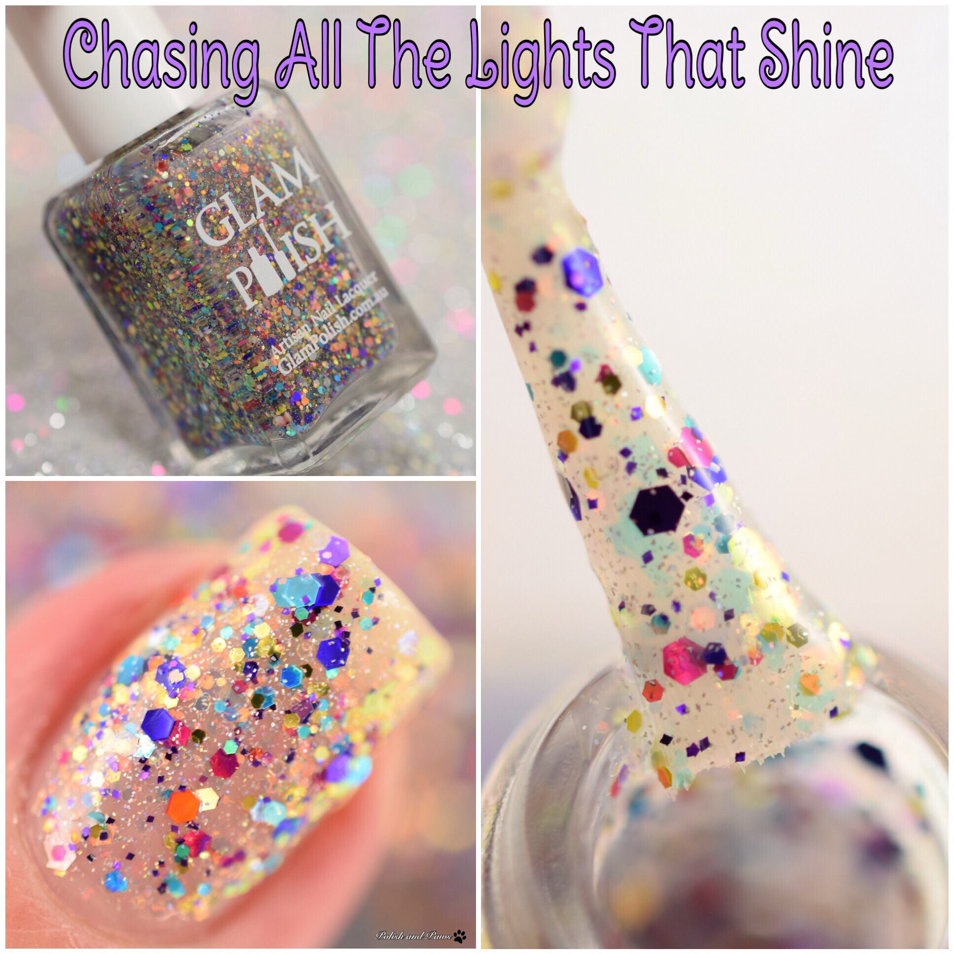 Glam Polish Chasing All the Lights that Shine