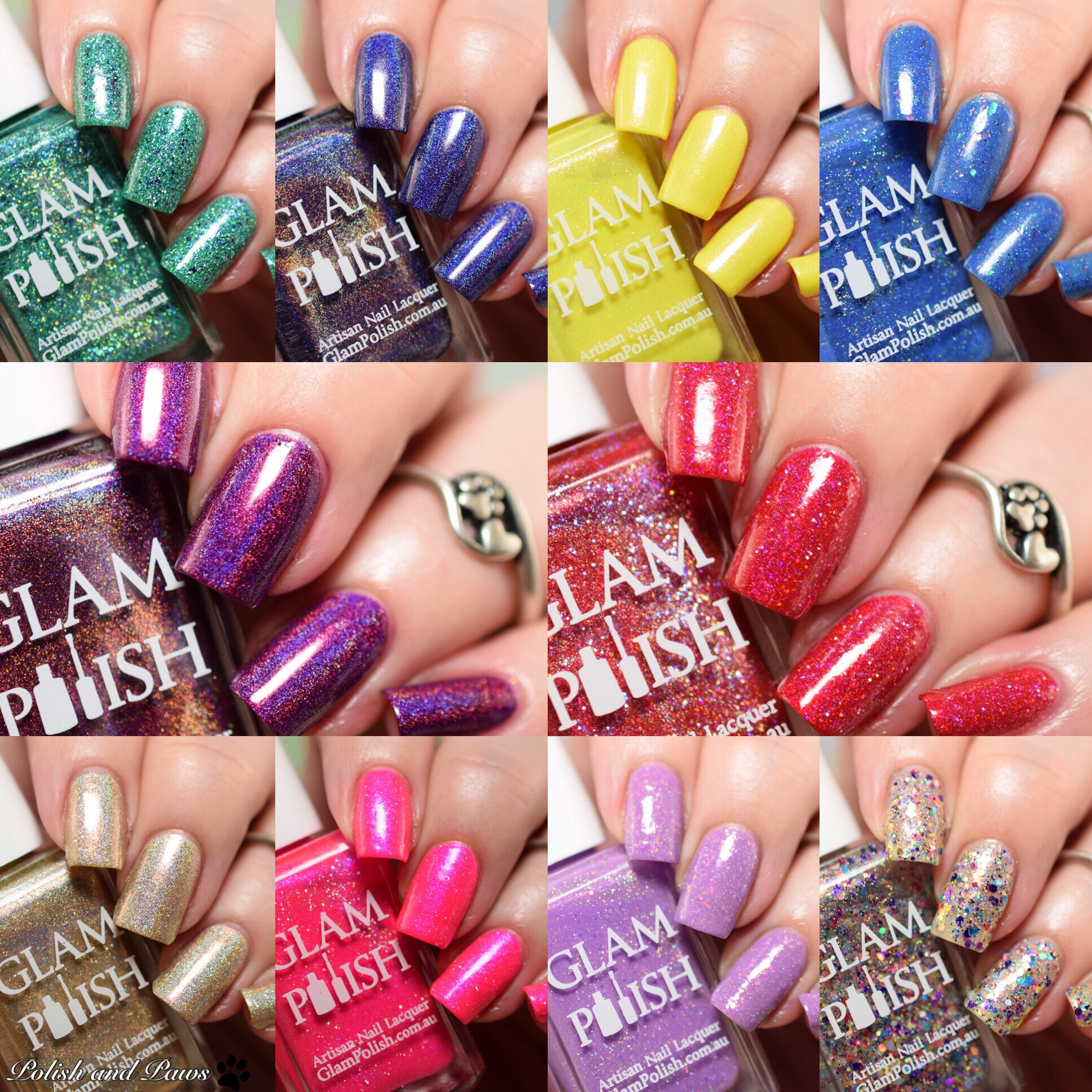 Glam Polish Technicolor World Collection