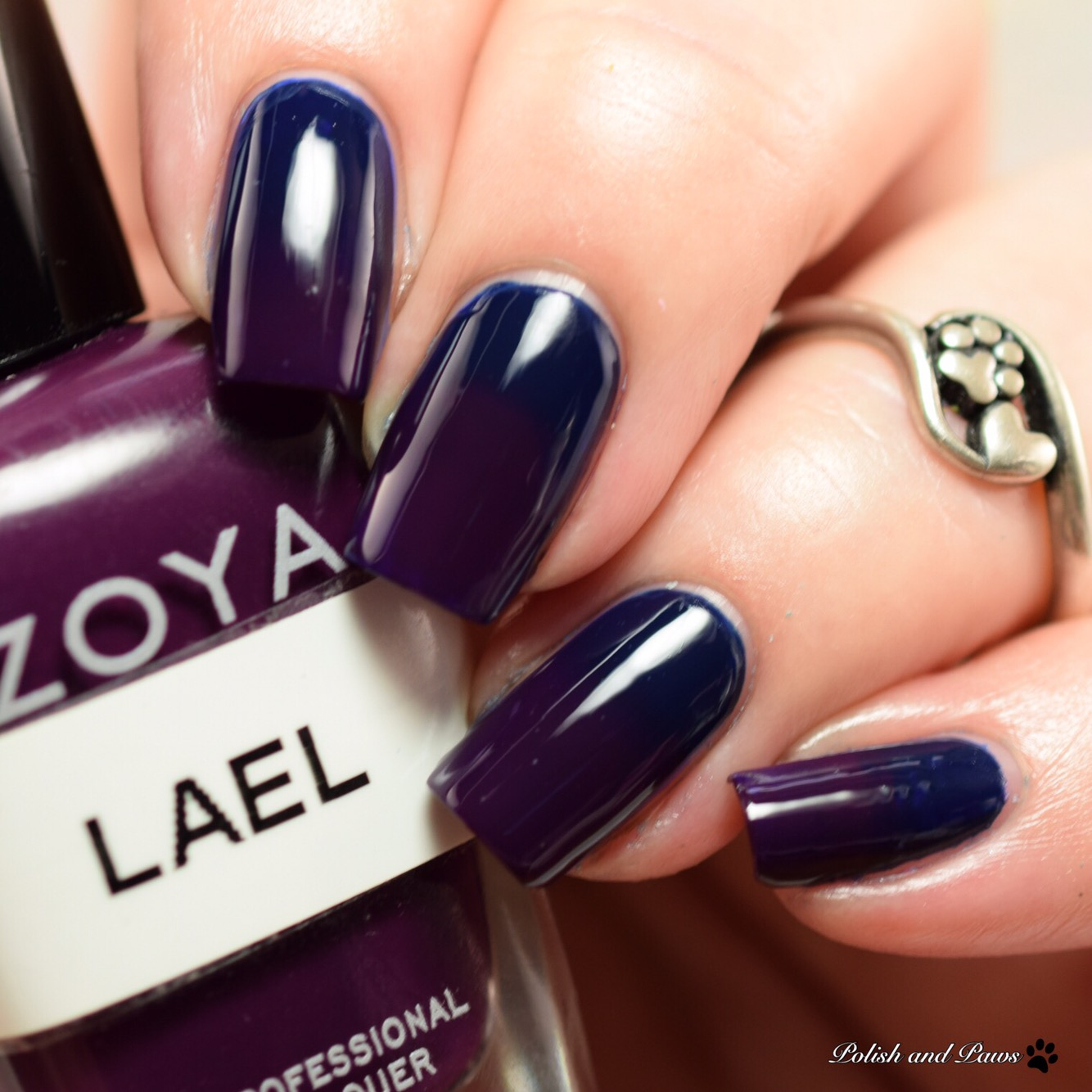 Zoya Lael with Zoya Ryan gradient