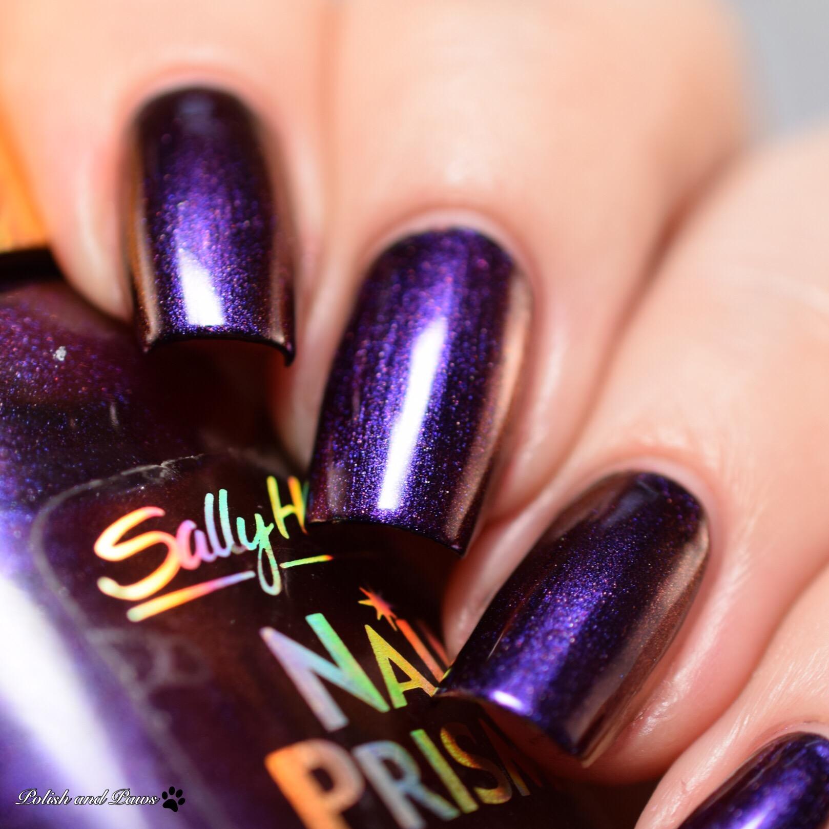 Sally Hansen Nail Prisms Burgundy Orchid