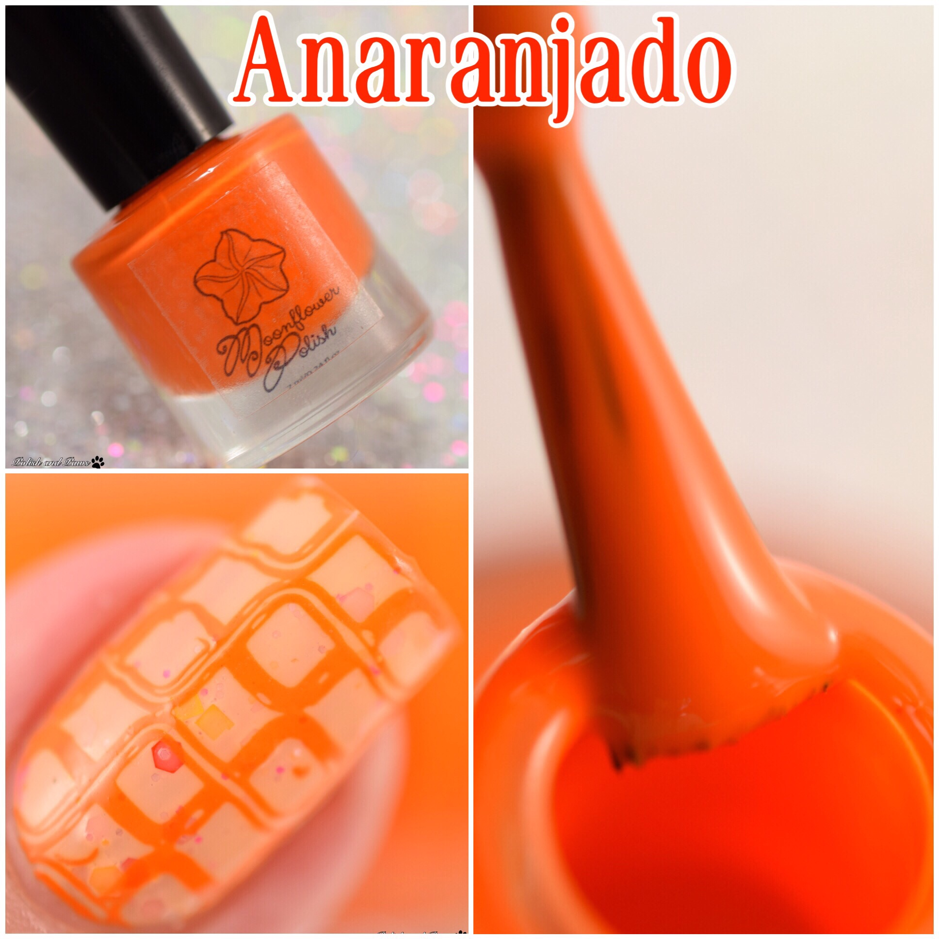 Moonflower Polish Anaranjado