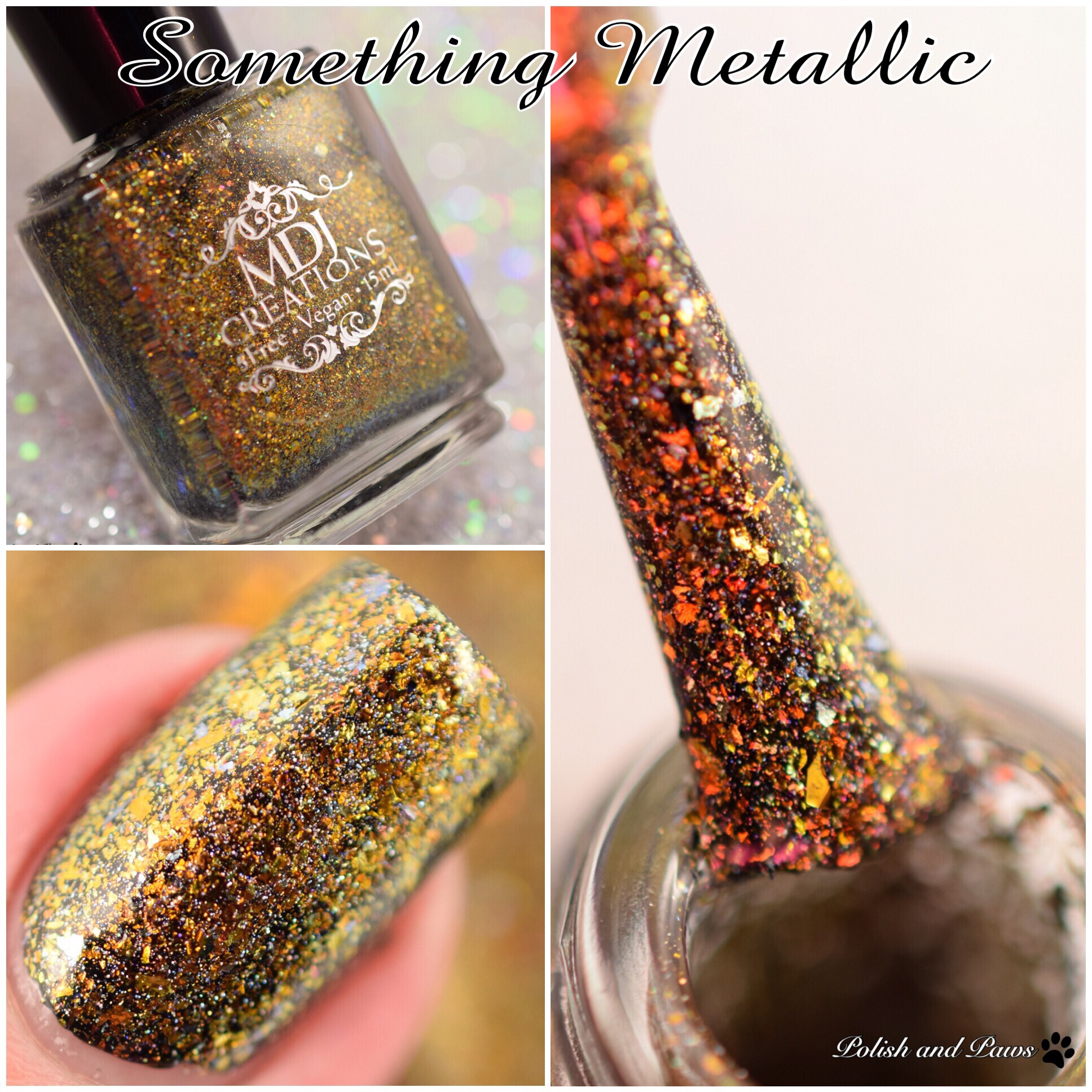 MDJ Creations Something Metallic