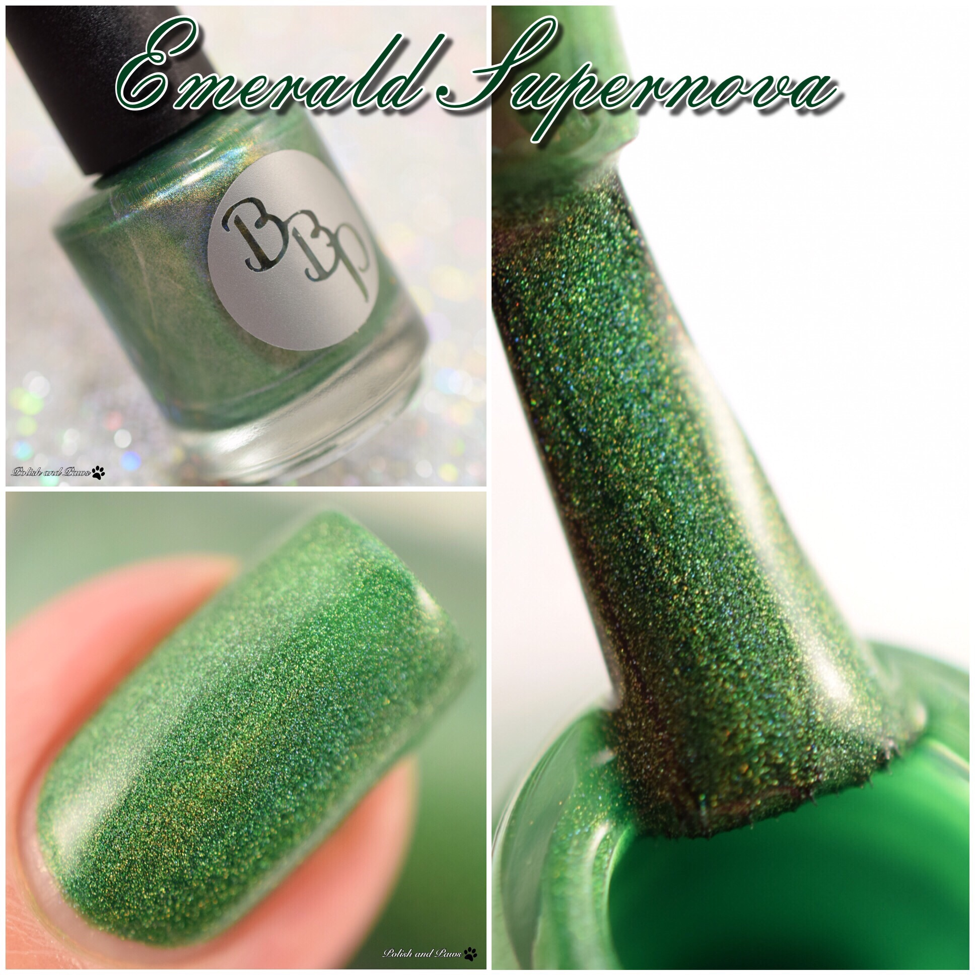 Bad Bitch Polish Emerald Supernova