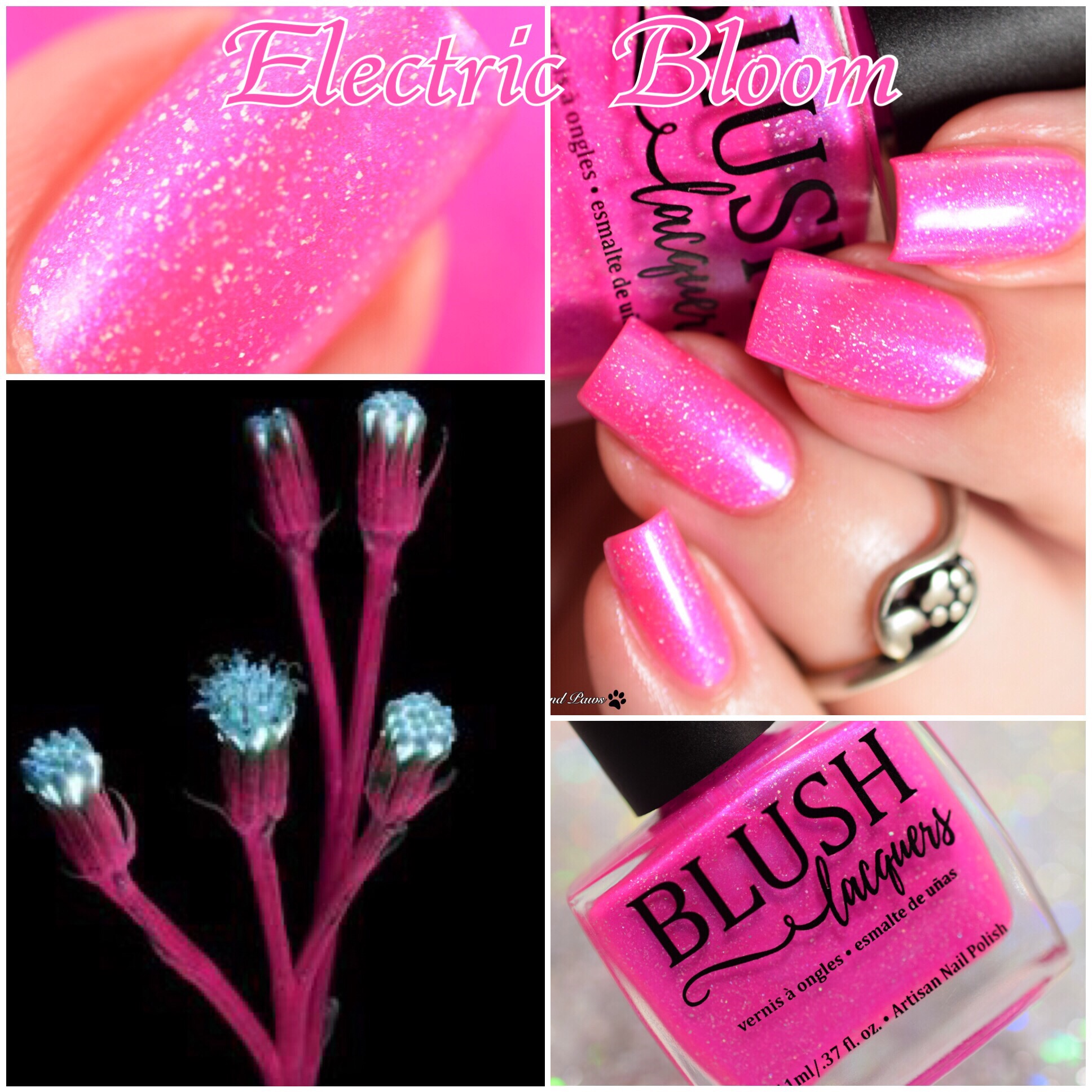 Blush Lacquers Electric Bloom