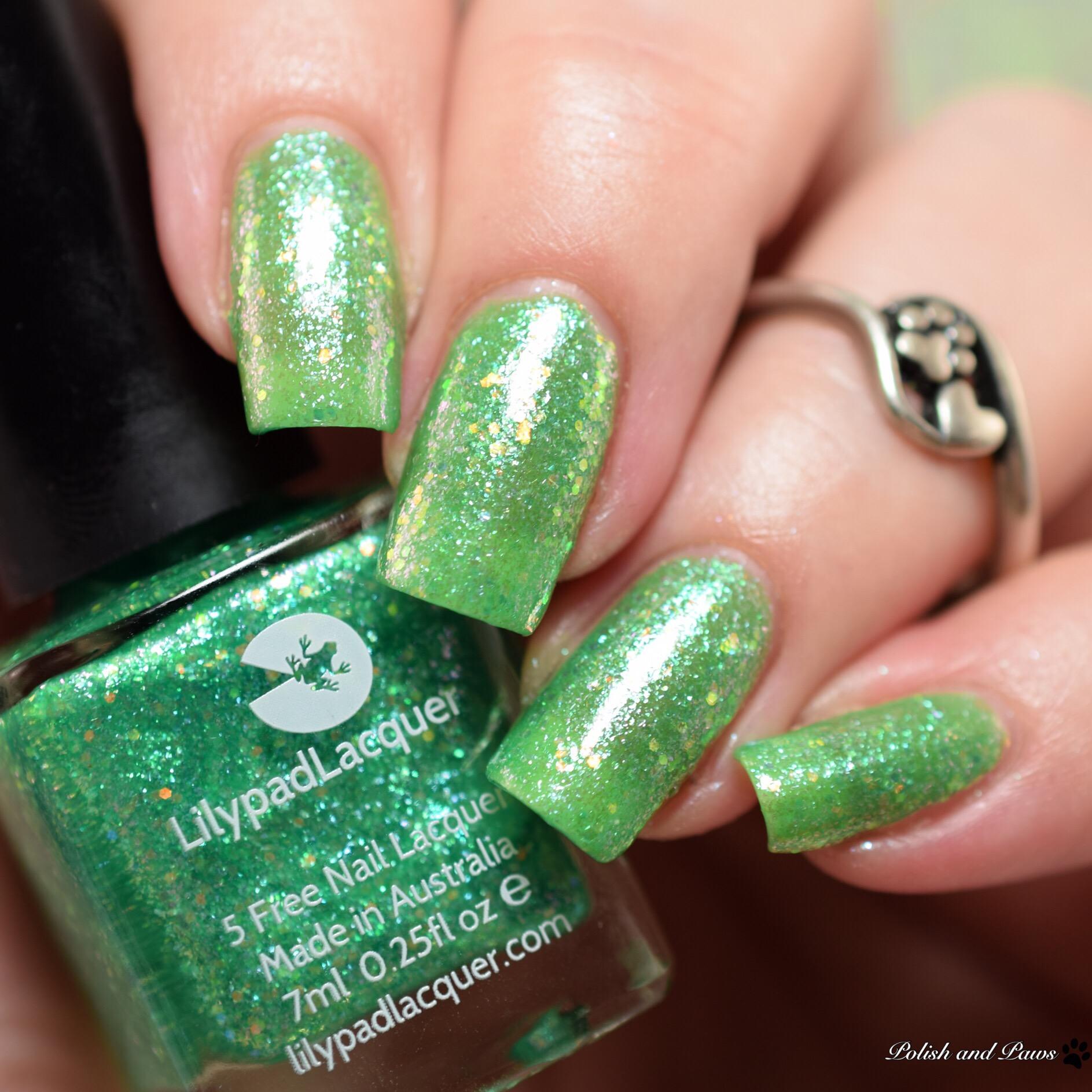 Lilypad Lacquer Kiwi Crush