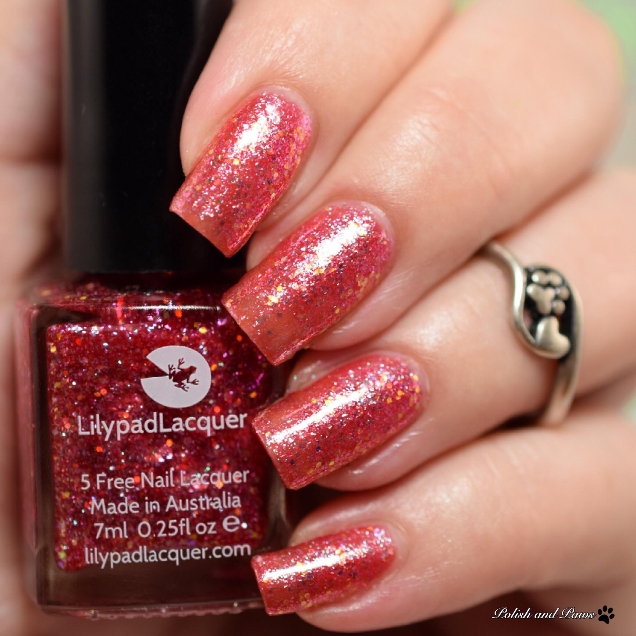 Lilypad Lacquer Raspberry Razz
