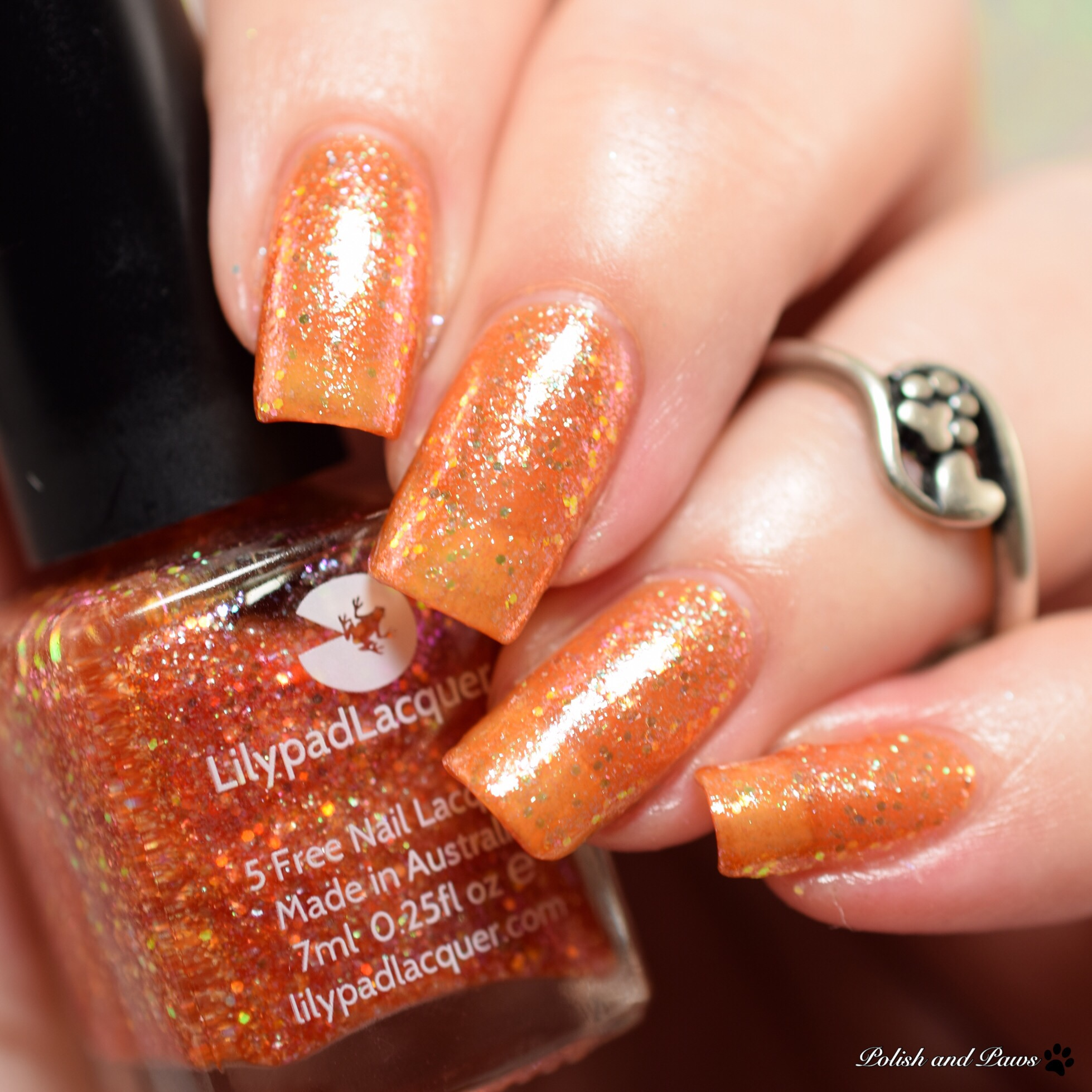 Lilypad Lacquer Mandarin Magic