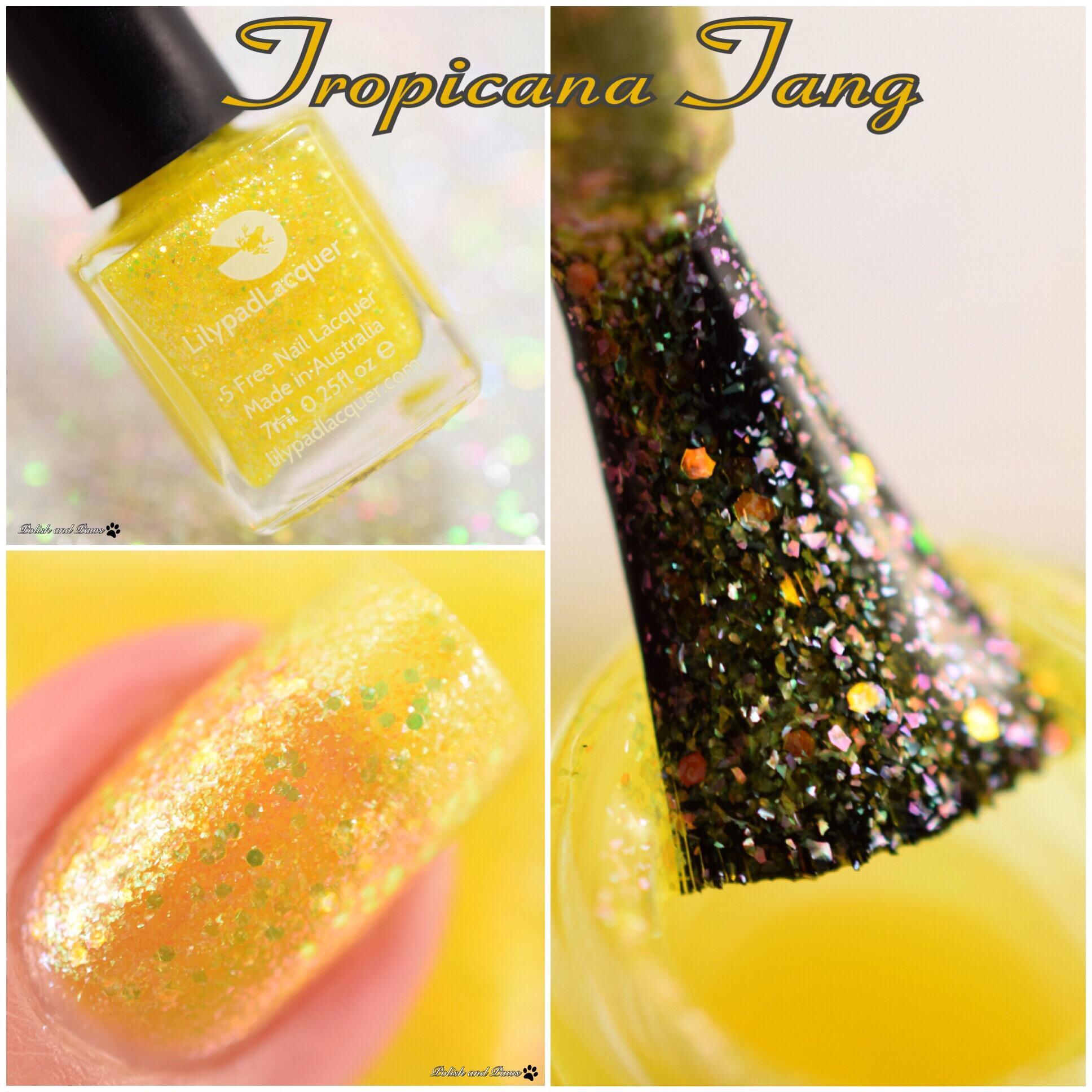 Lilypad Lacquer Tropicana Tang