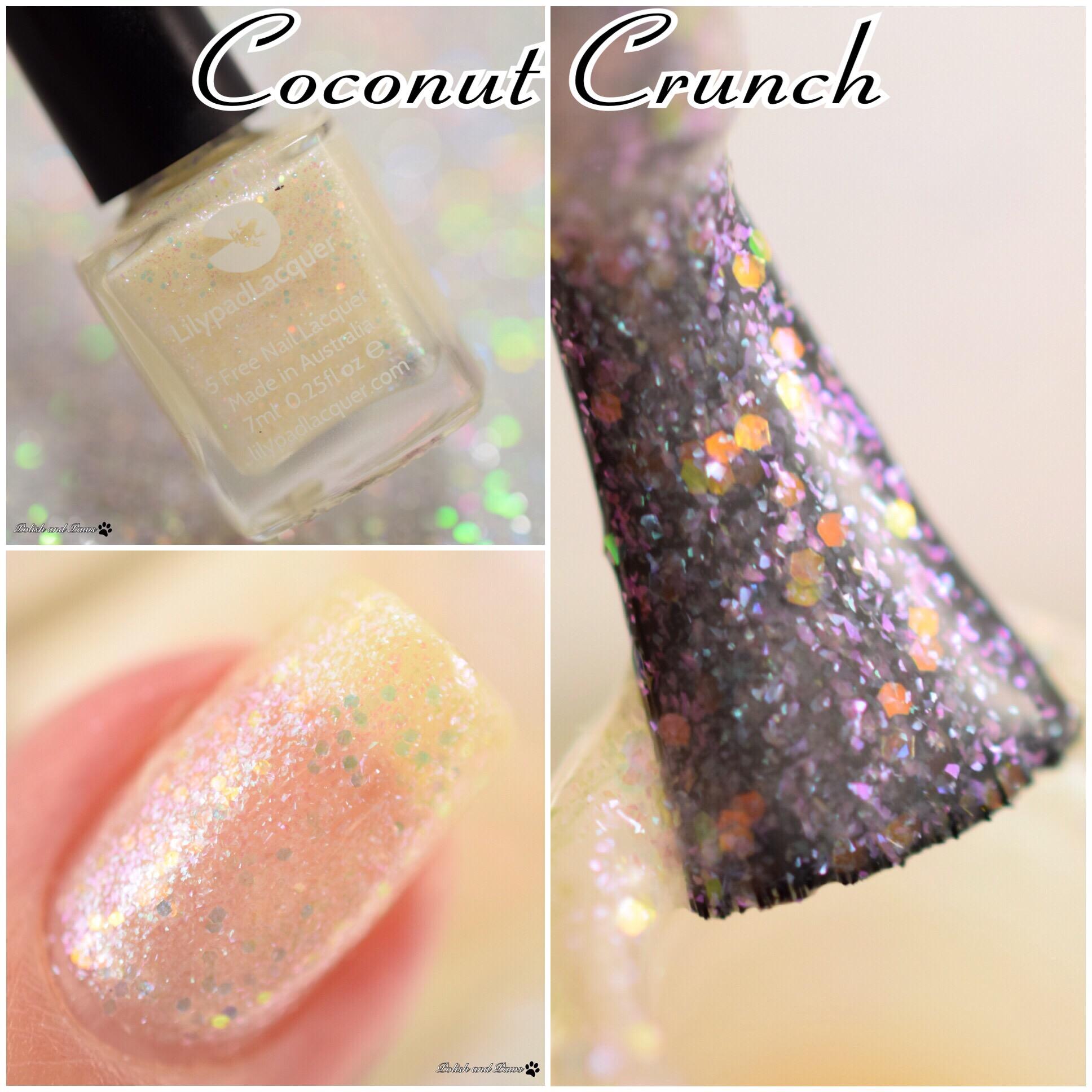 Lilypad Lacquer Coconut Crunch