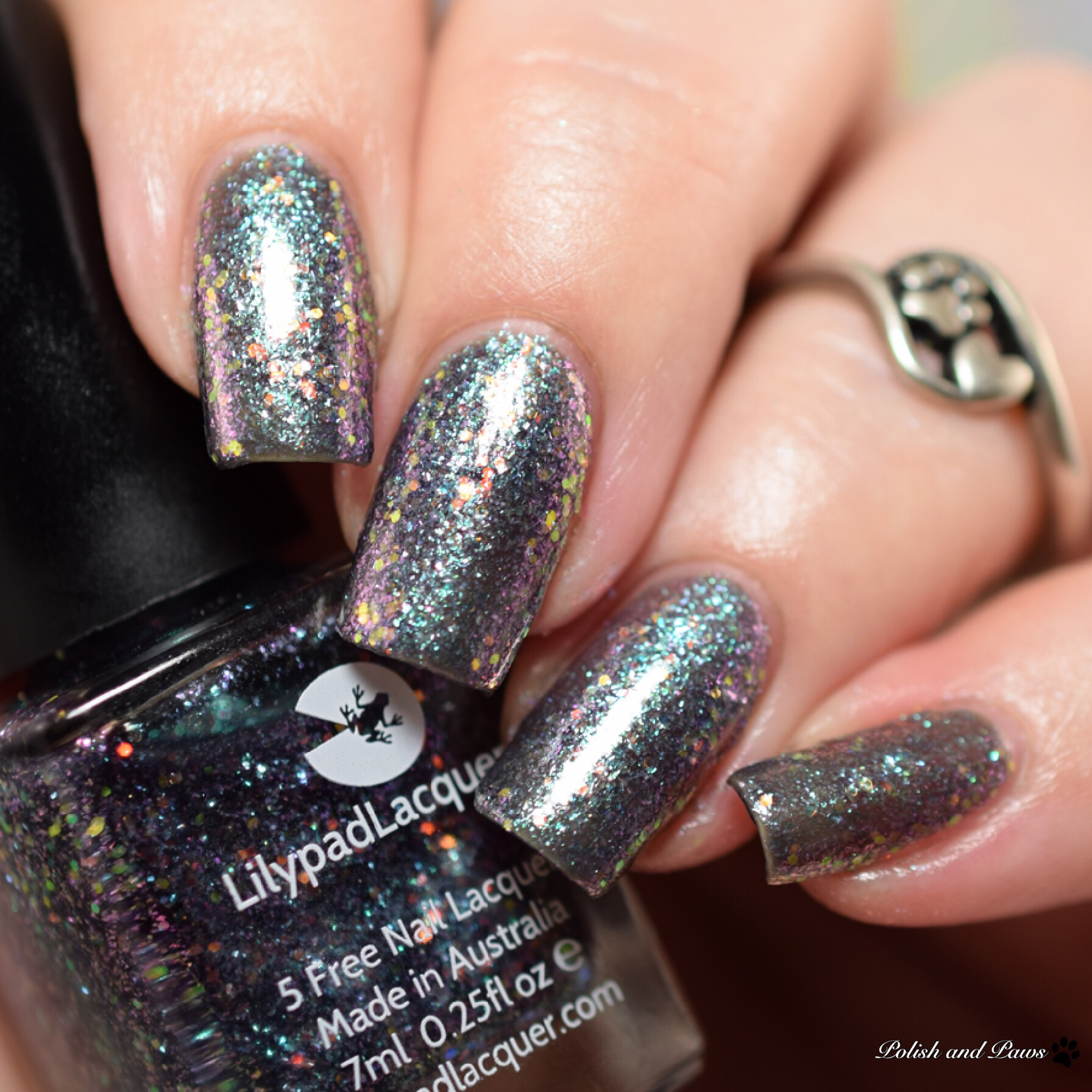 Lilypad Lacquer Blackberry Baby