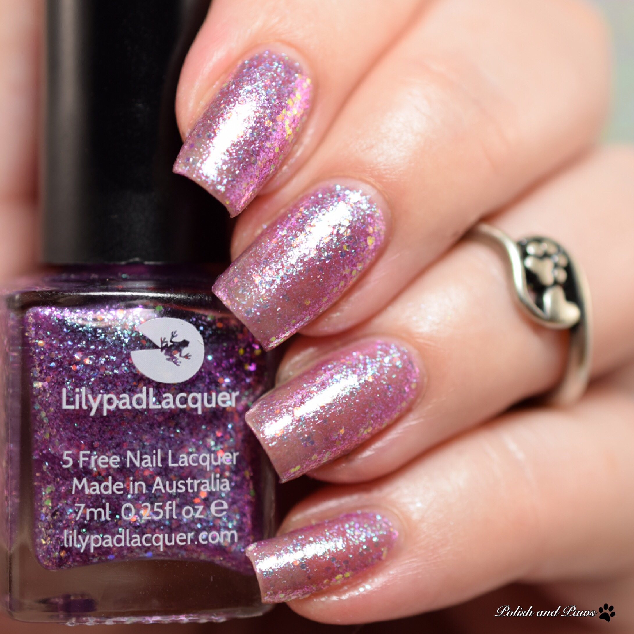 Lilypad Lacquer Blueberry Bang