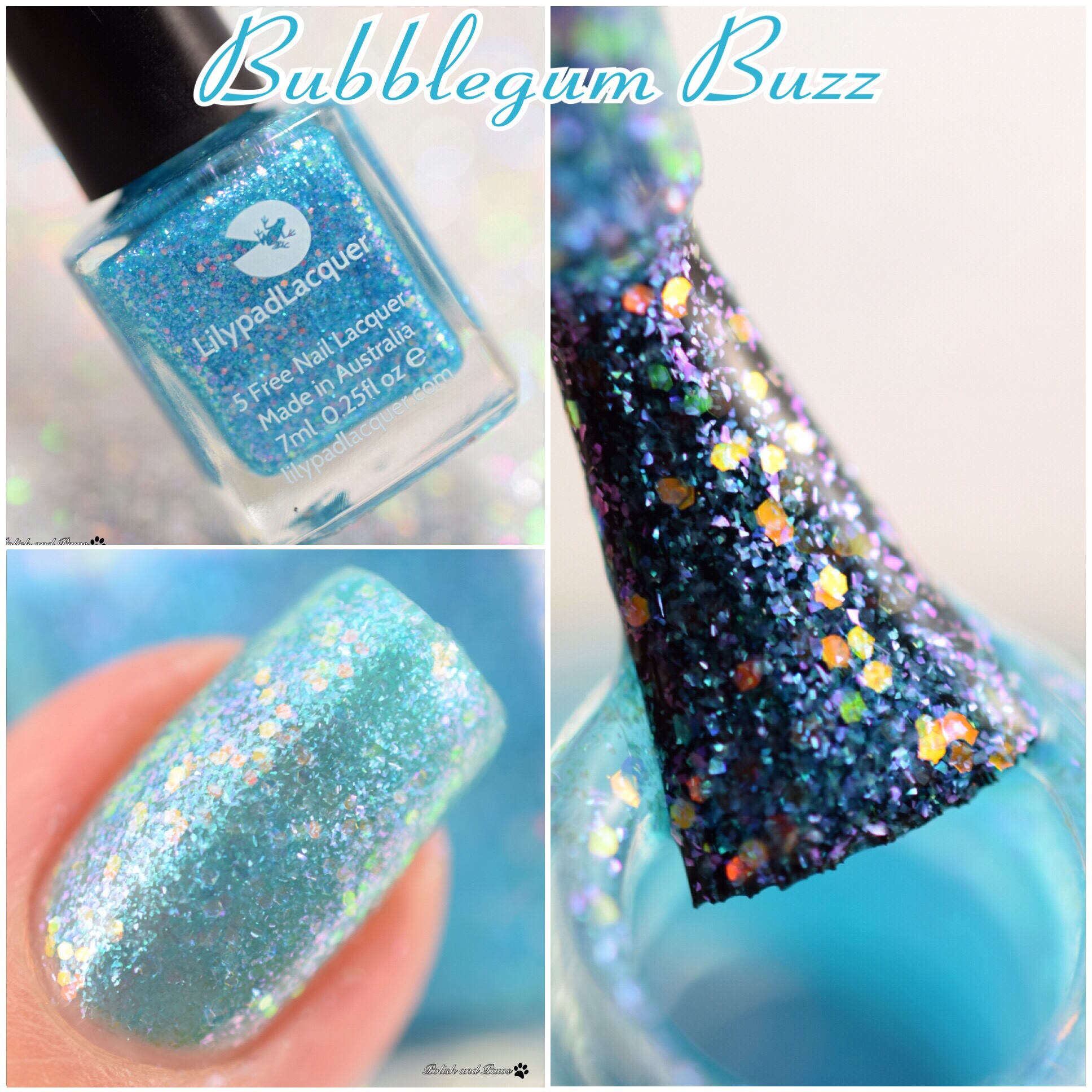 Lilypad Lacquer Bubblegum Buzz
