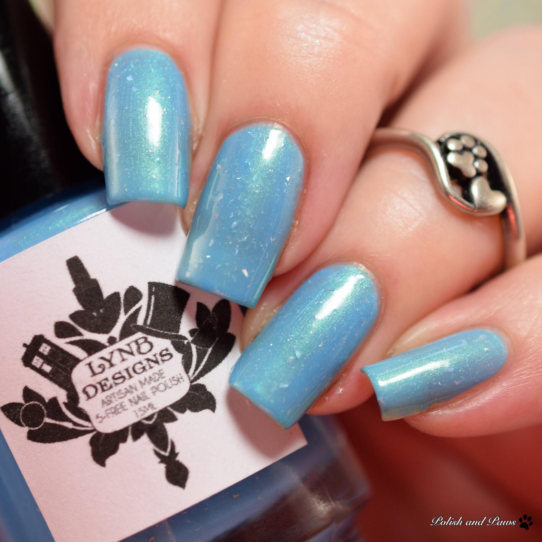LynB Designs Liquid Blue