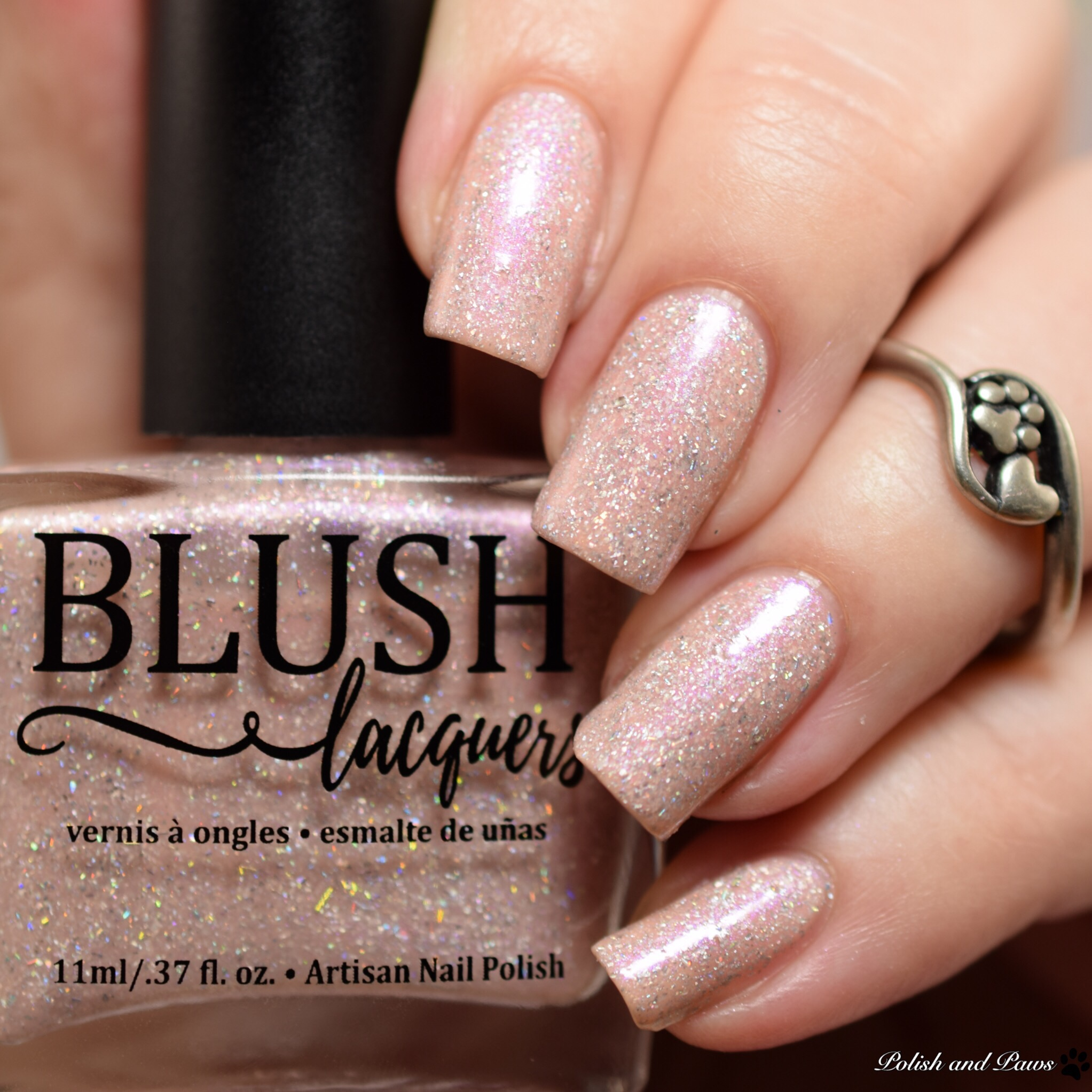 Blush Lacquers Faded Flowers
