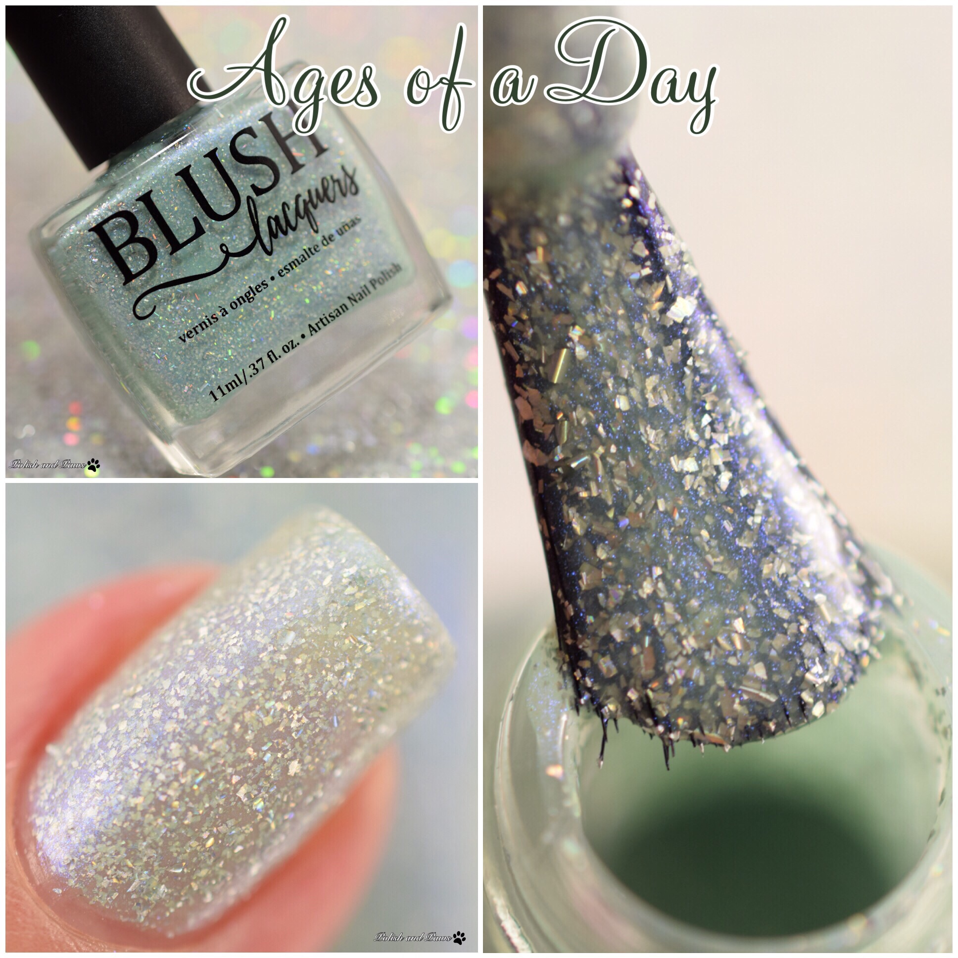 Blush Lacquers Ages of a Day