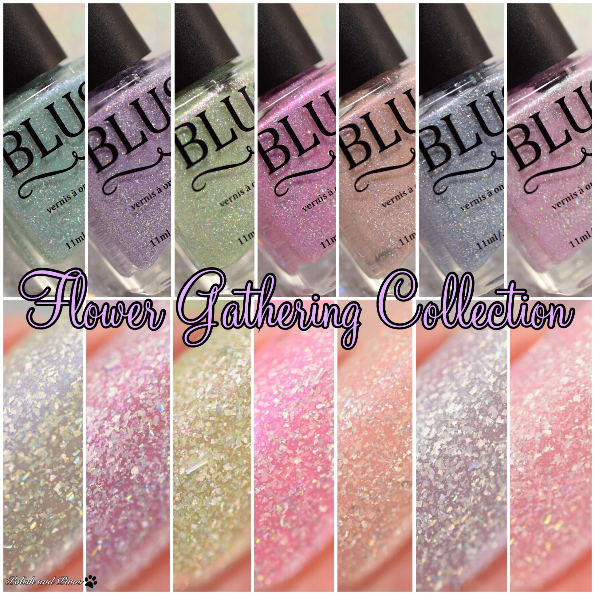 Blush Lacquers Flower Gathering Collection