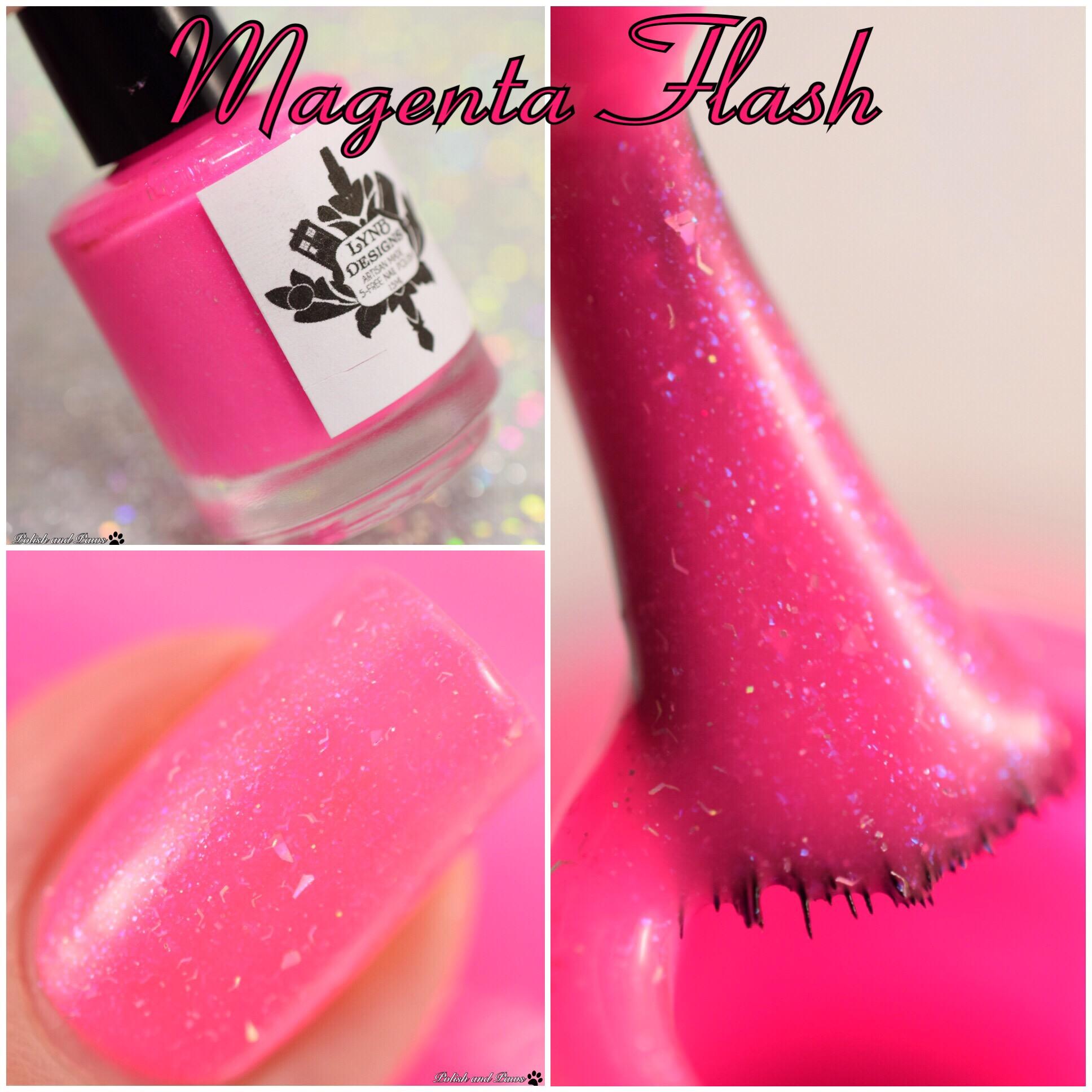 LynB Designs Magenta Flash