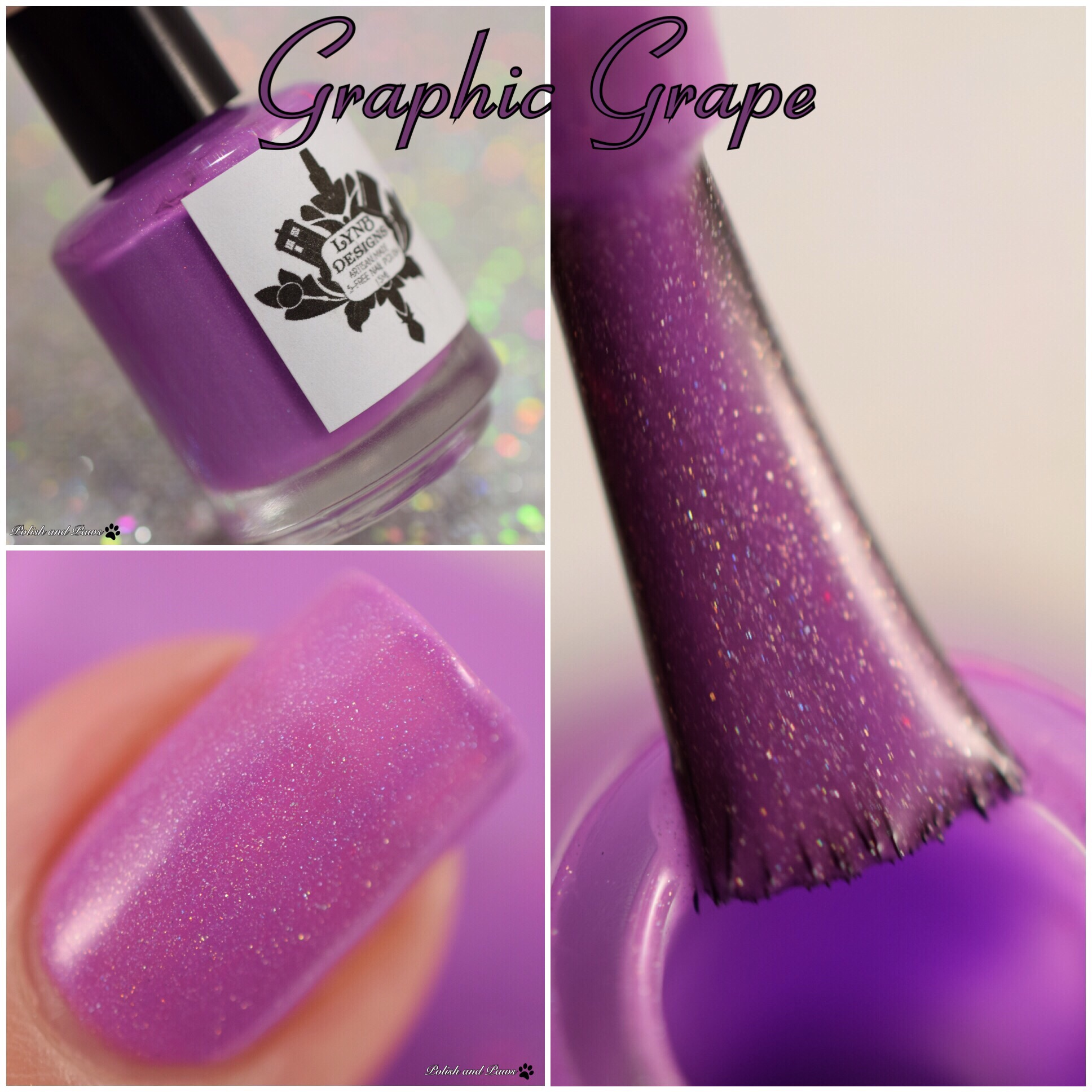 LynB Designs Graphic Grape