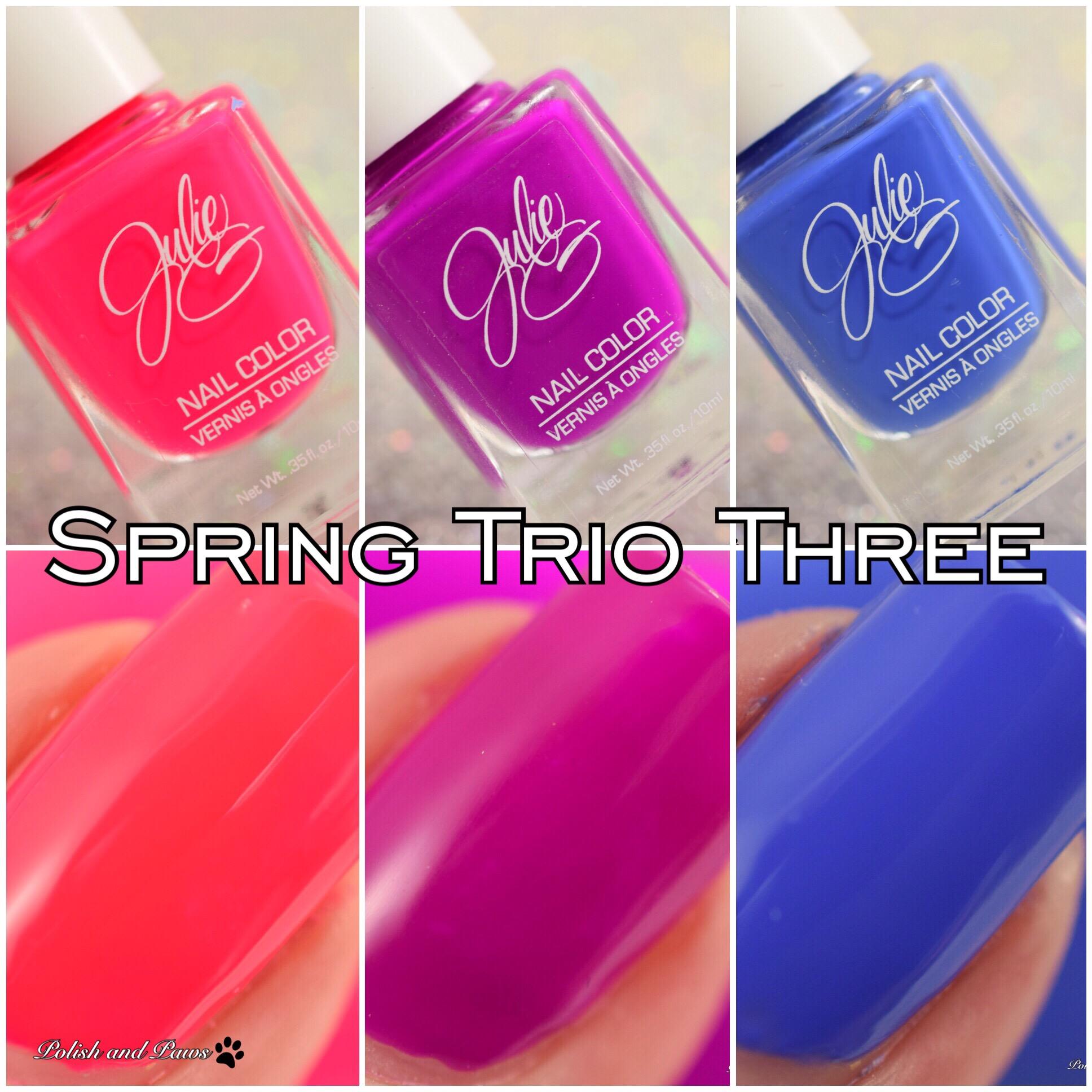 Julie G Spring Trio Three #3