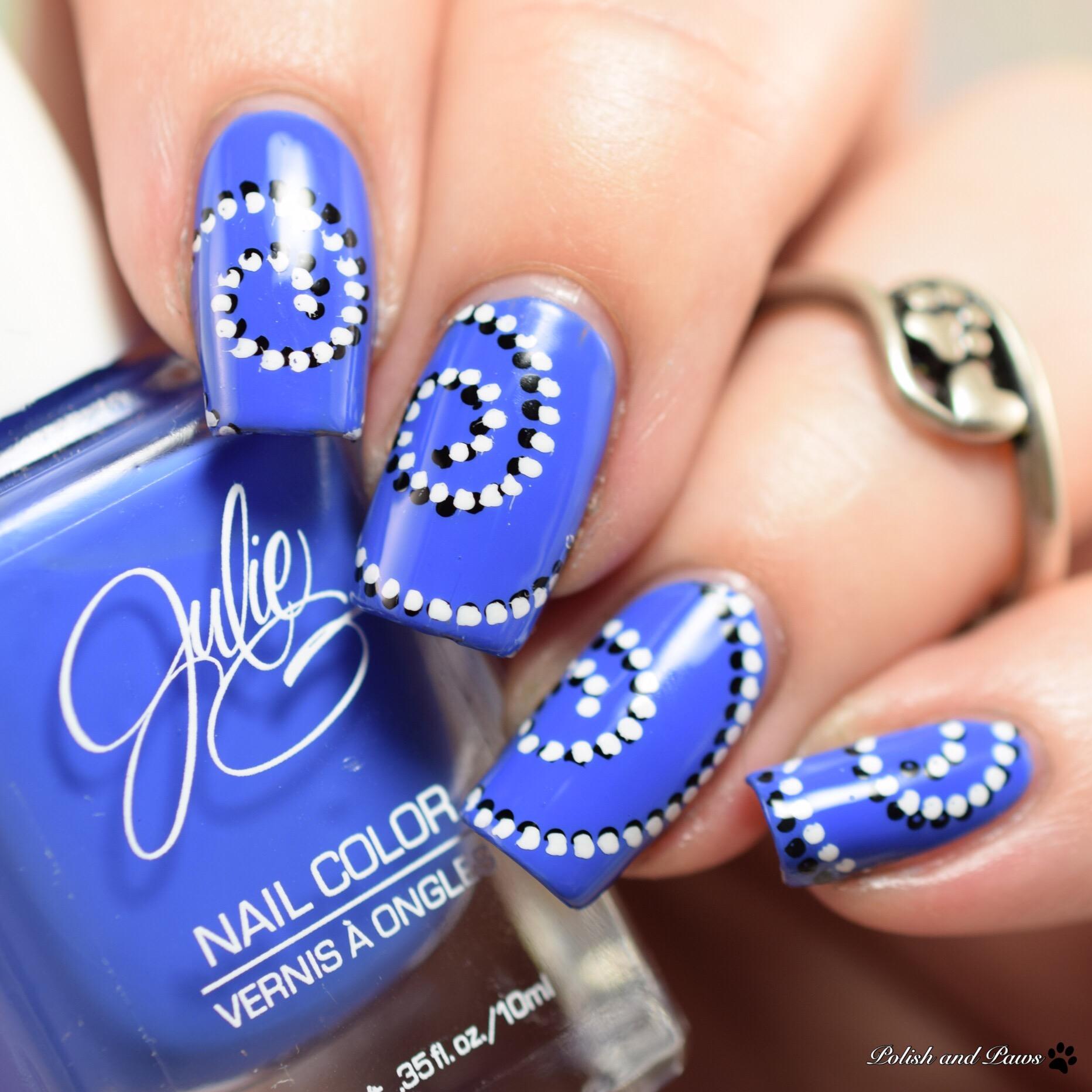 Julie G Cabana Boy nail art