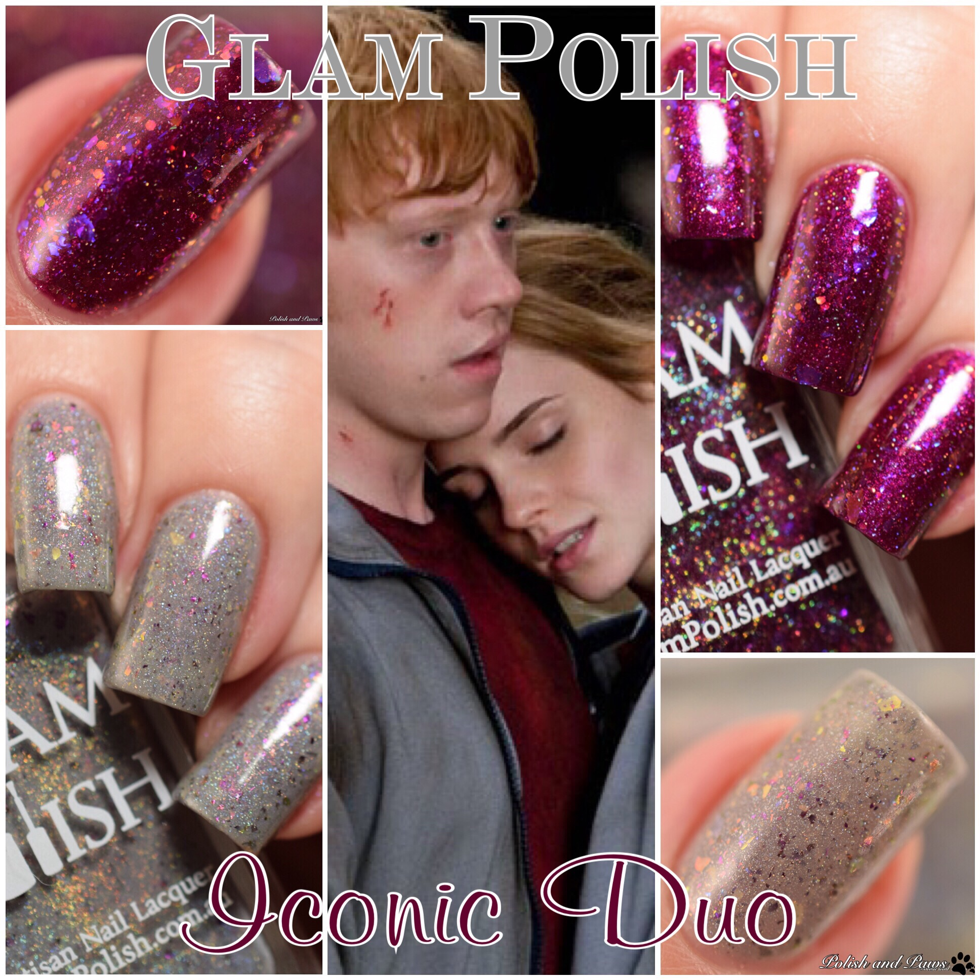 Glam Polish Iconic Duo Harry Potter Exclusives