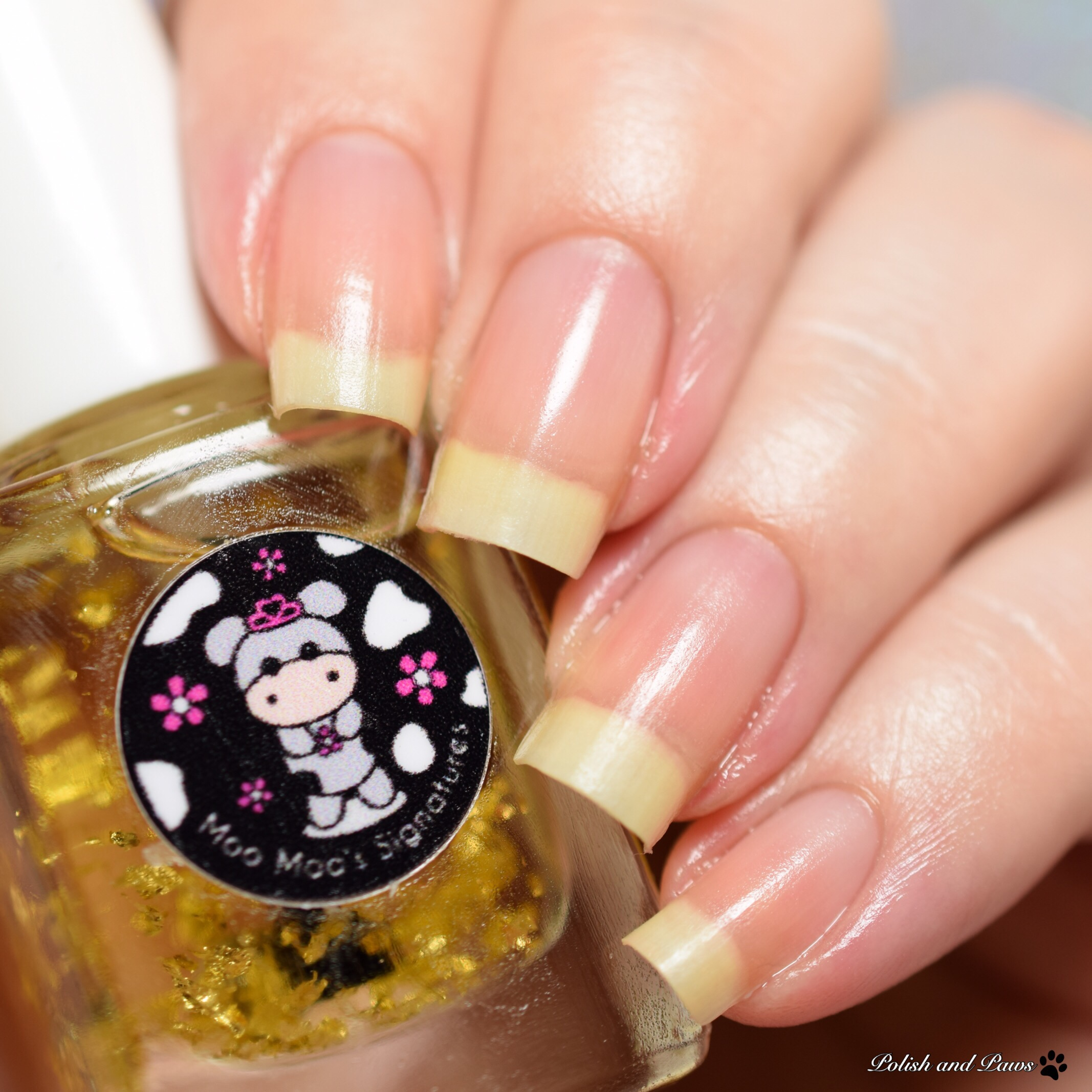 Moo Moo's Signatures 24k Gold Cuticle Oil