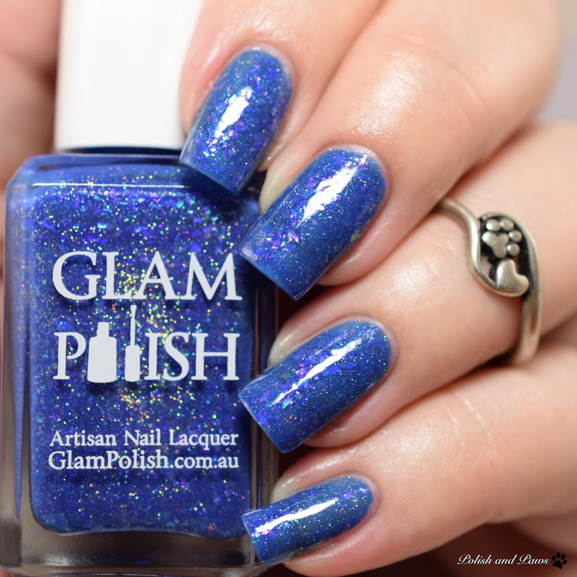 Glam Polish Just Keep Swimming, Swimming, Swimming