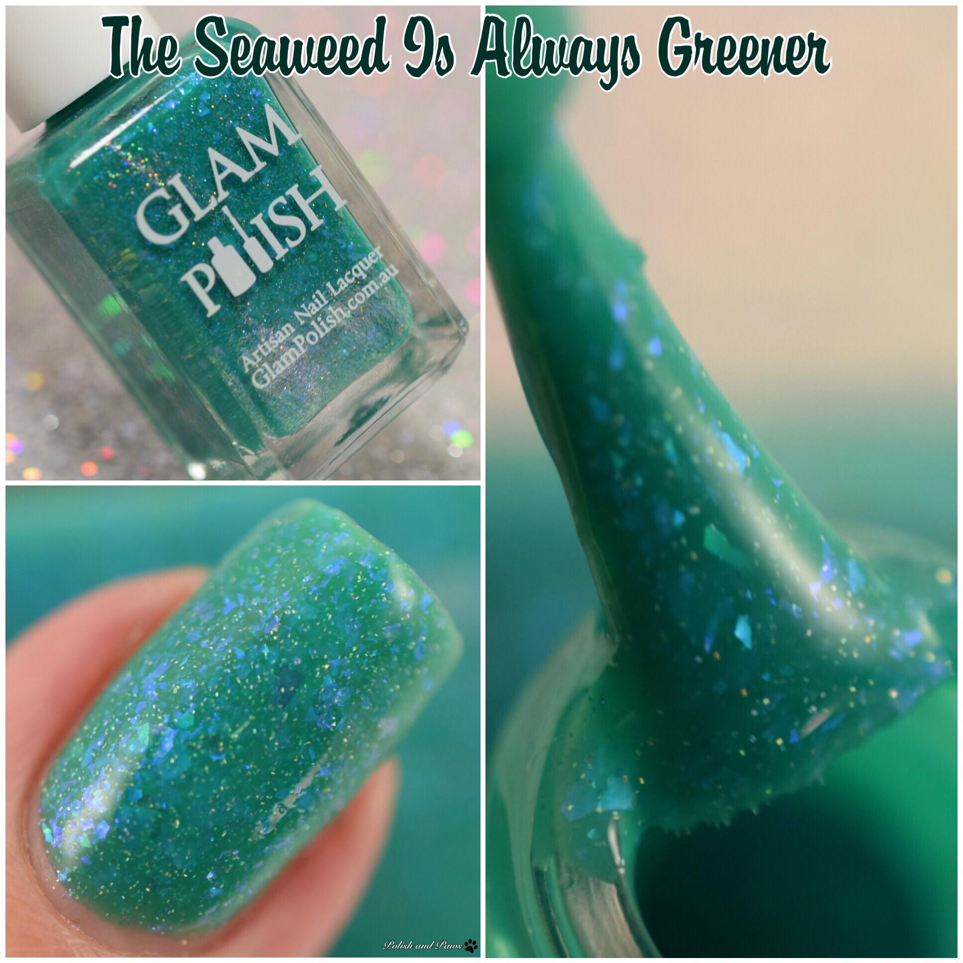 Glam Polish The Seaweed is Always Greener