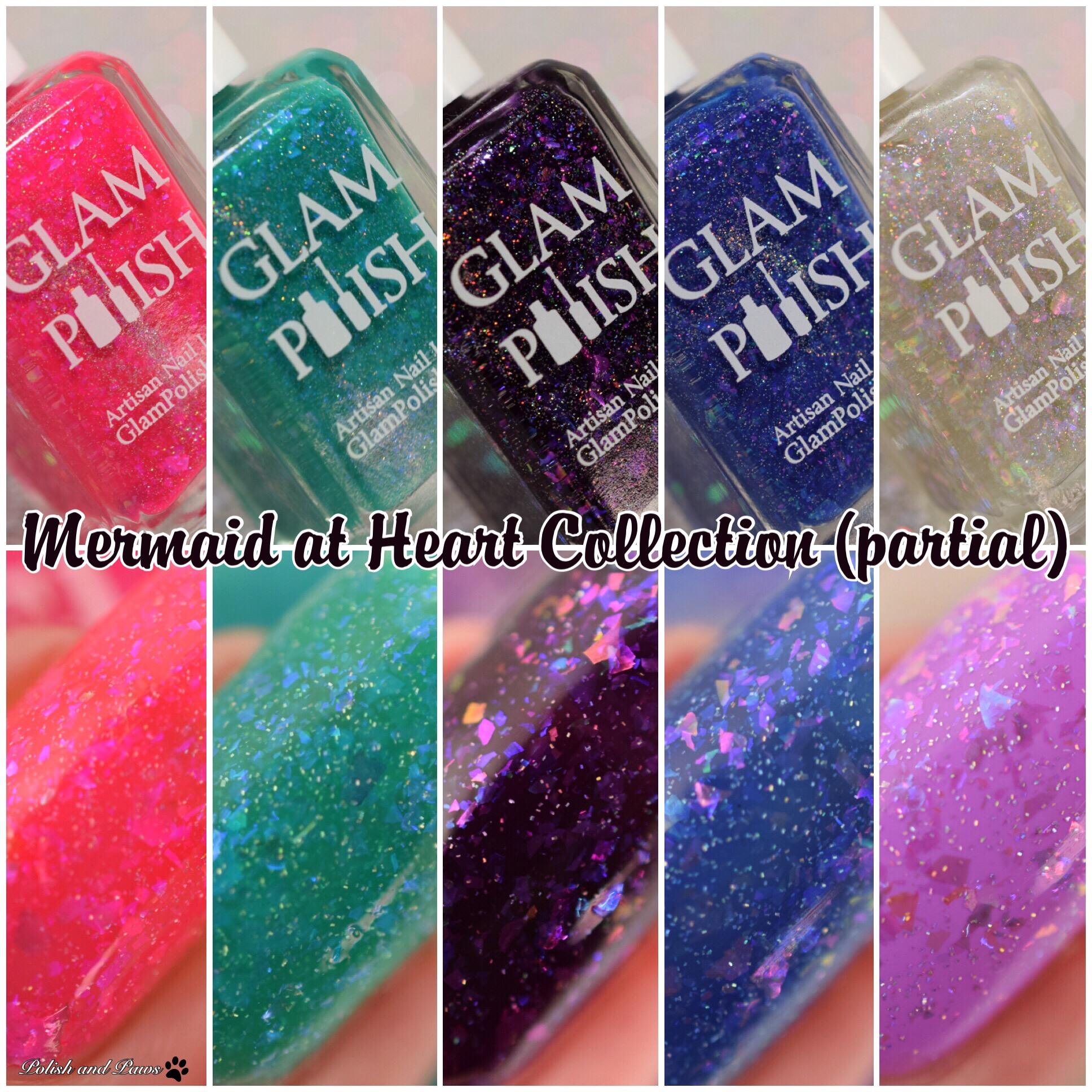 Glam Polish Mermaid at Heart Collection