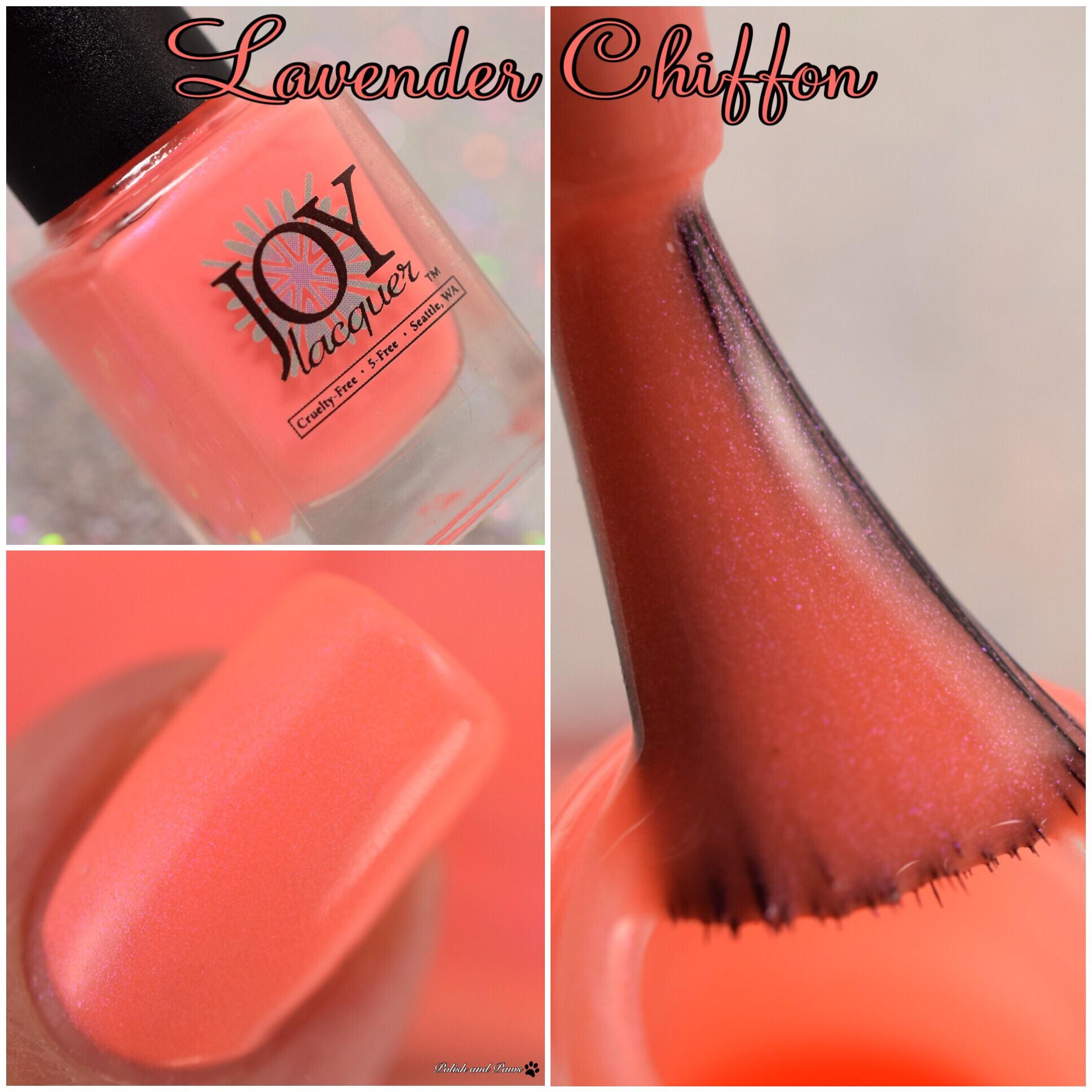 Joy Lacquer Lavender Chiffon