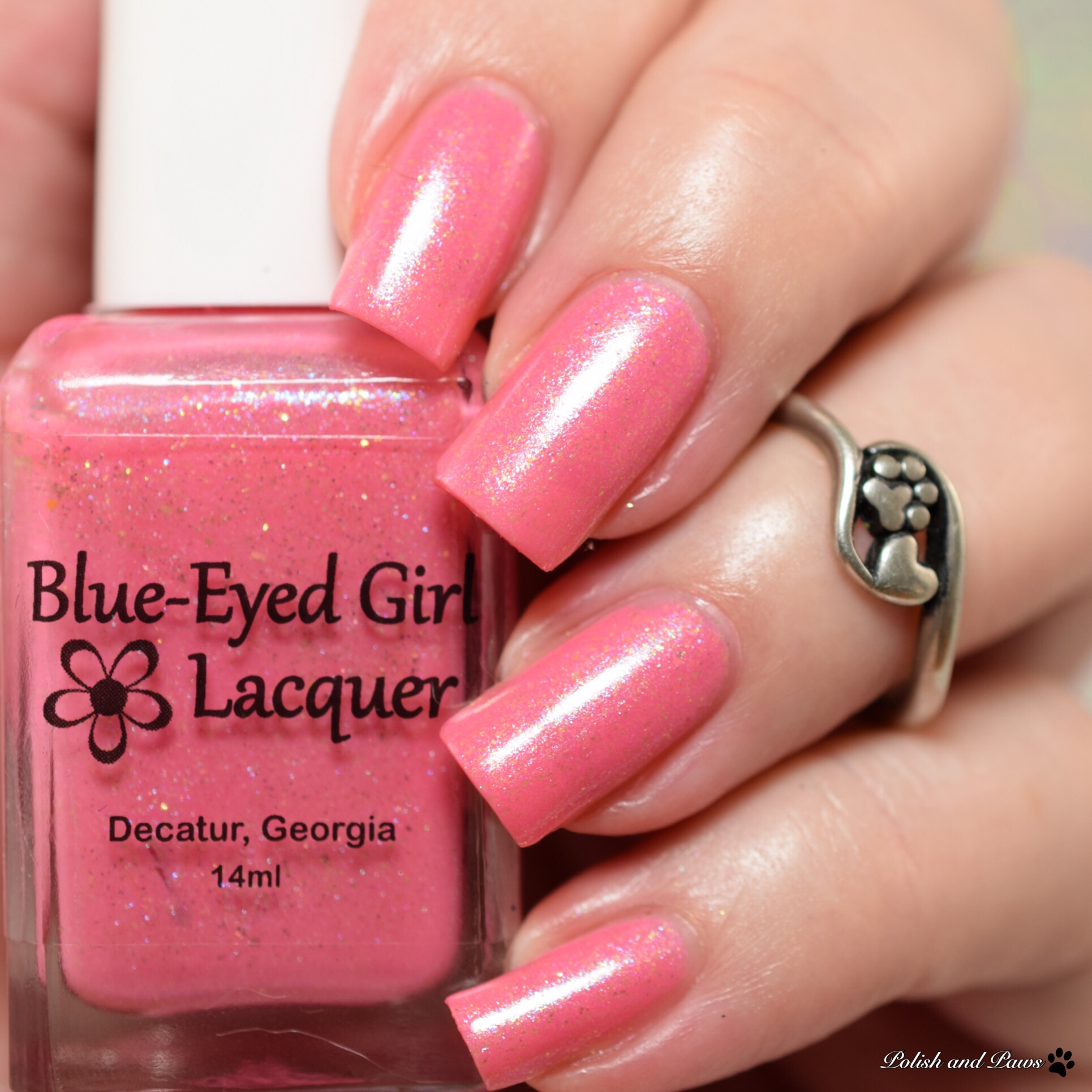 Blue Eyed Girl Lacquer Hiding Dory