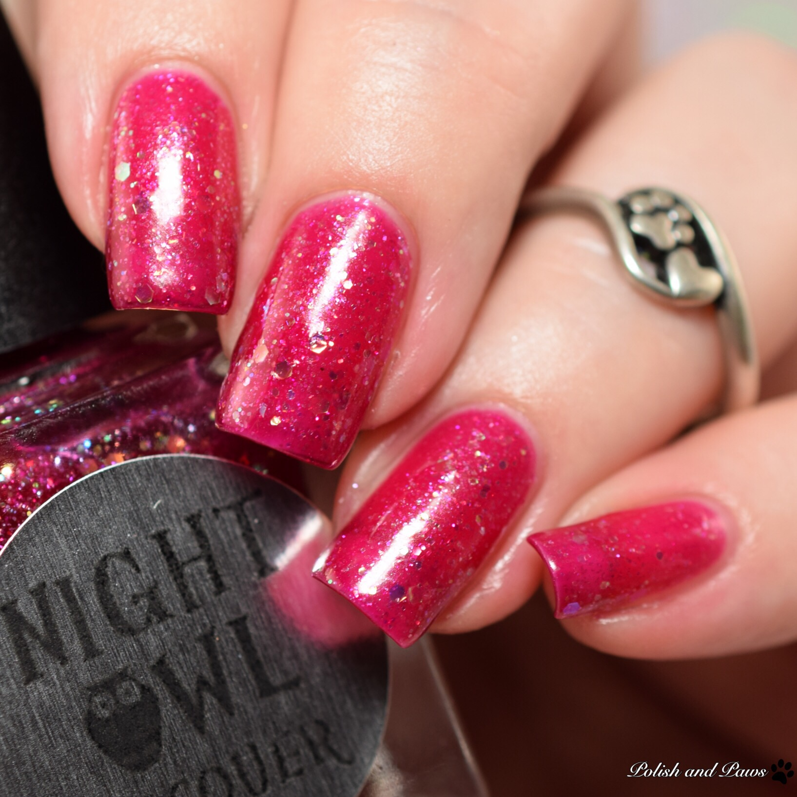Night Owl Lacquer Yes Way Rose