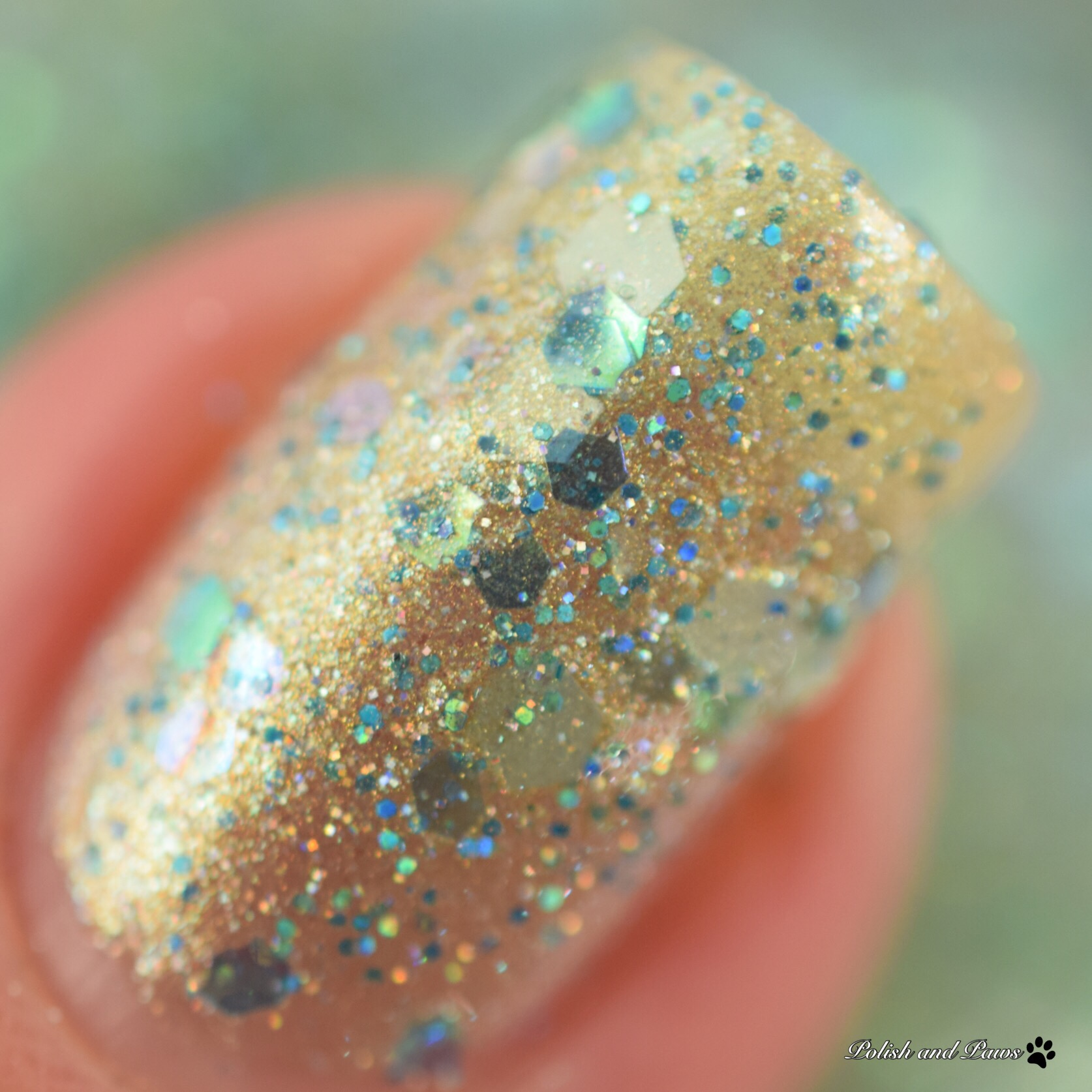 Sassy Pants Polish Mermaid Tears