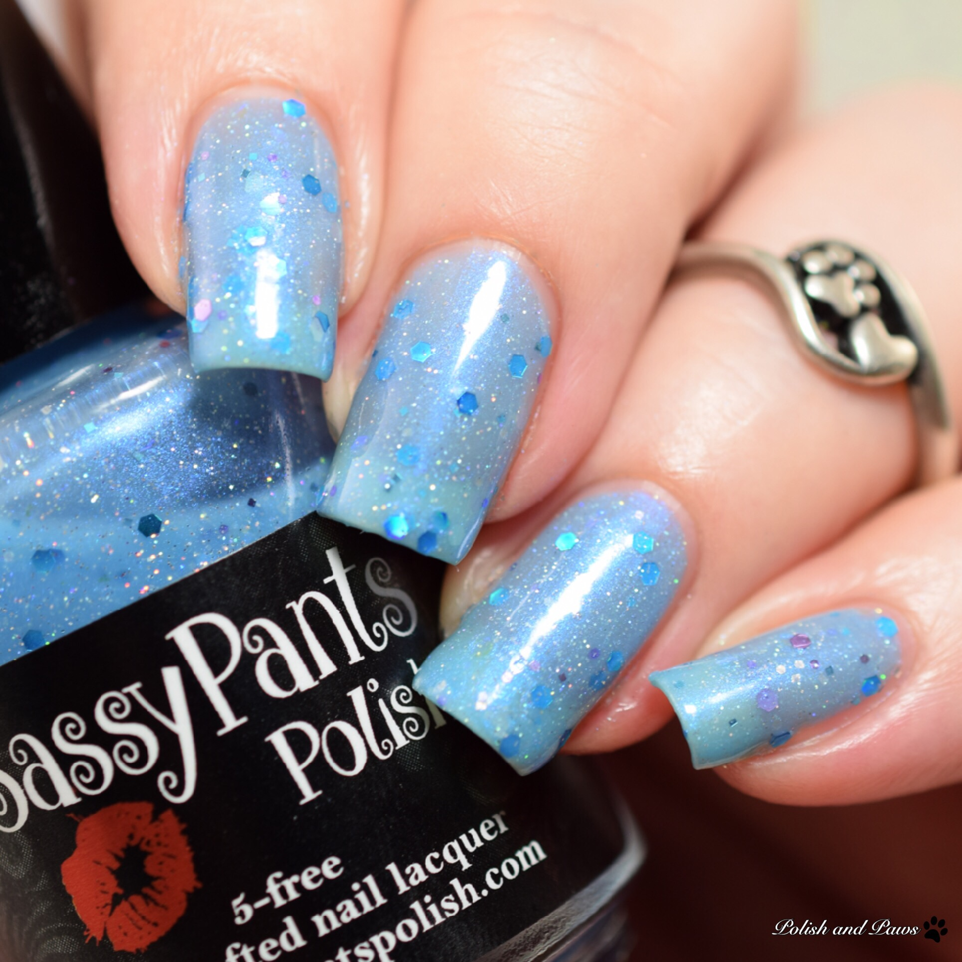 Sassy Pants Polish Mermaids of the Ocean Blue