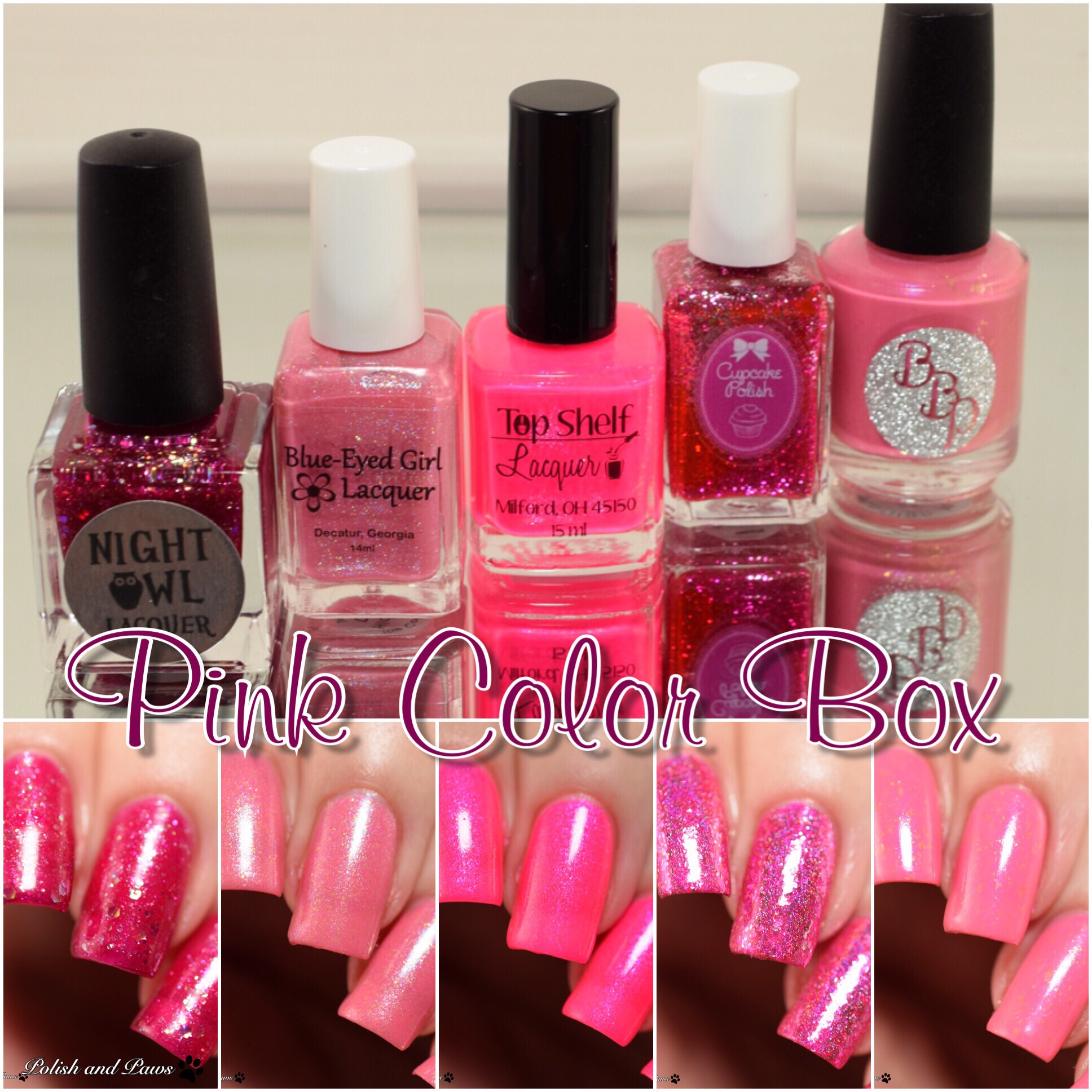 The Color Box Pink
