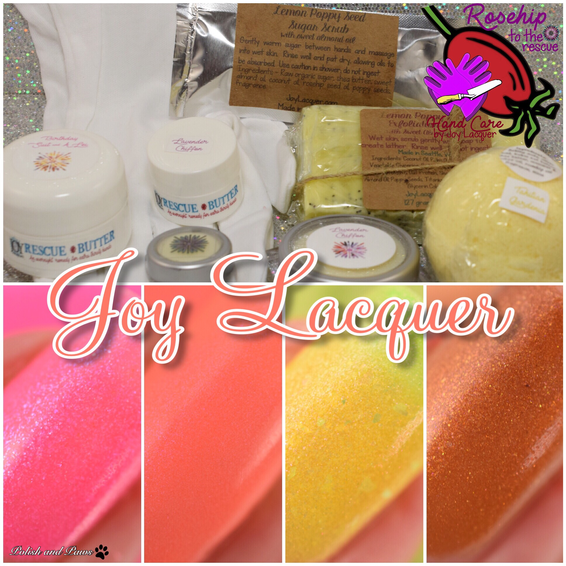 Joy Lacquer Rosehip to the Rescue Hand Kit