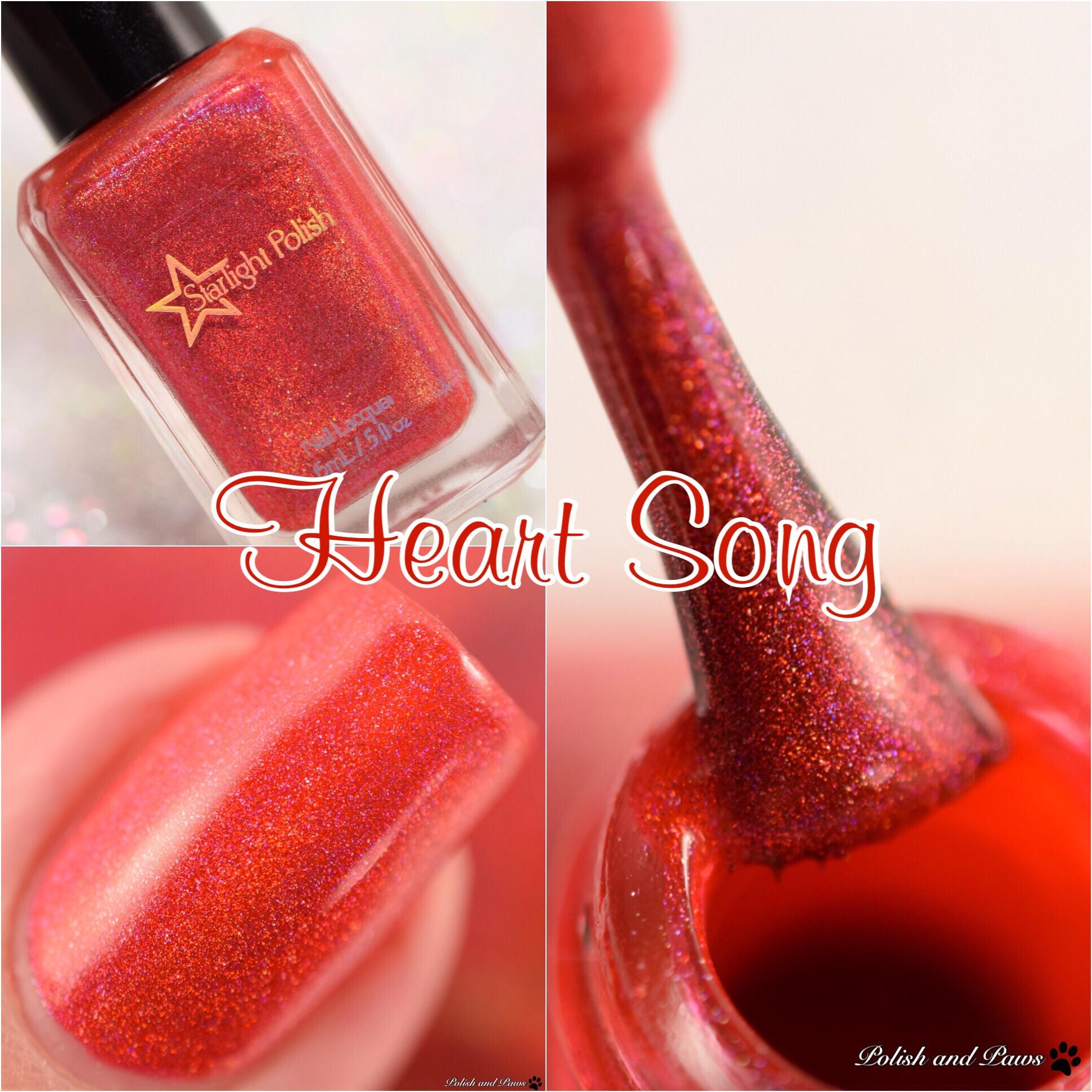 Starlight Polish Heart Song